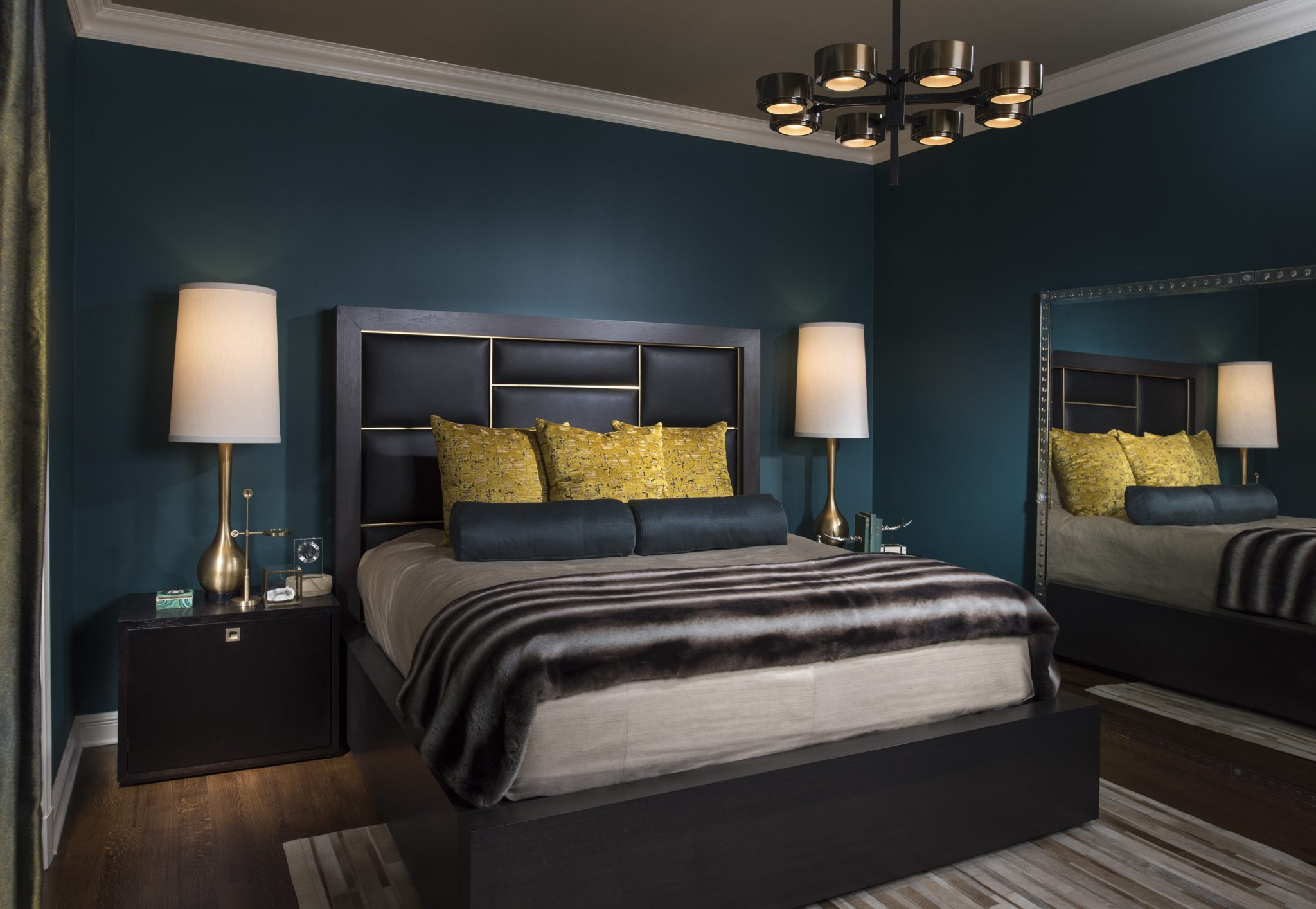 Richly Colored Dark Bedroom Designs - Chairish Blog