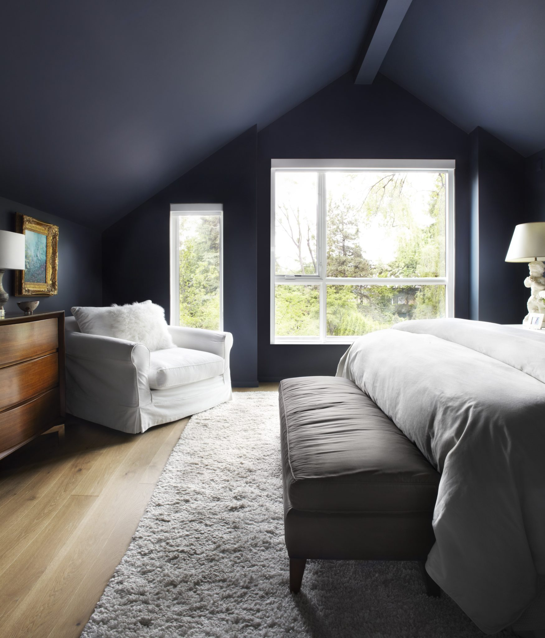 Bennington Heights master bedroom by Rowlands Associates