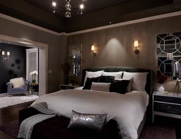 Richly Colored Dark Bedroom Designs