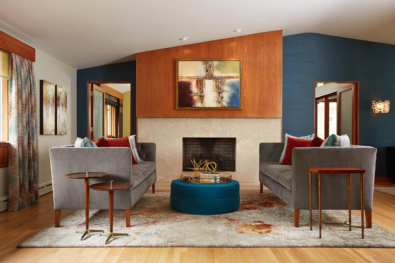 Interior design by Fiddlehead Design Group