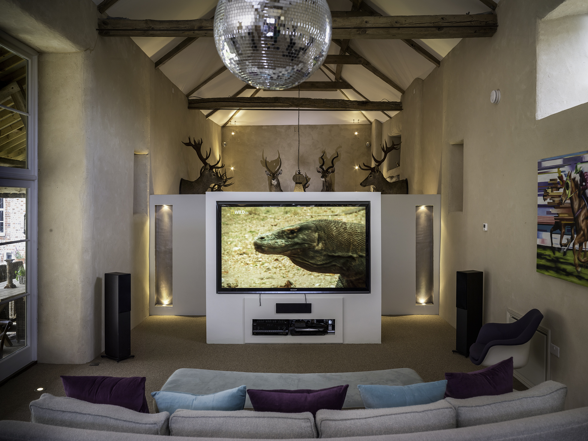 North Norfolk Country House - TV Barn by Kelling Designs
