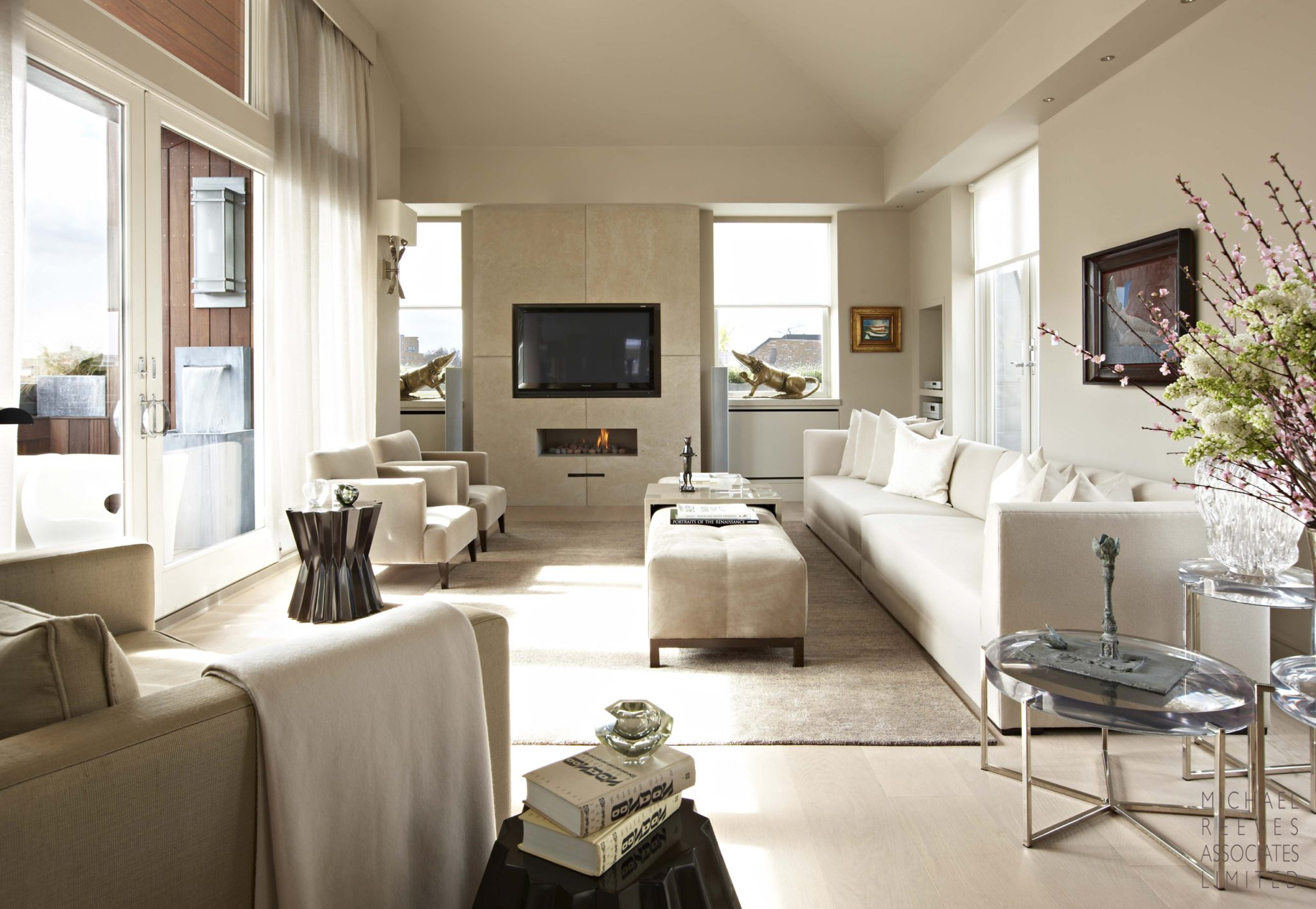 Interior design by Michael Reeves Associates