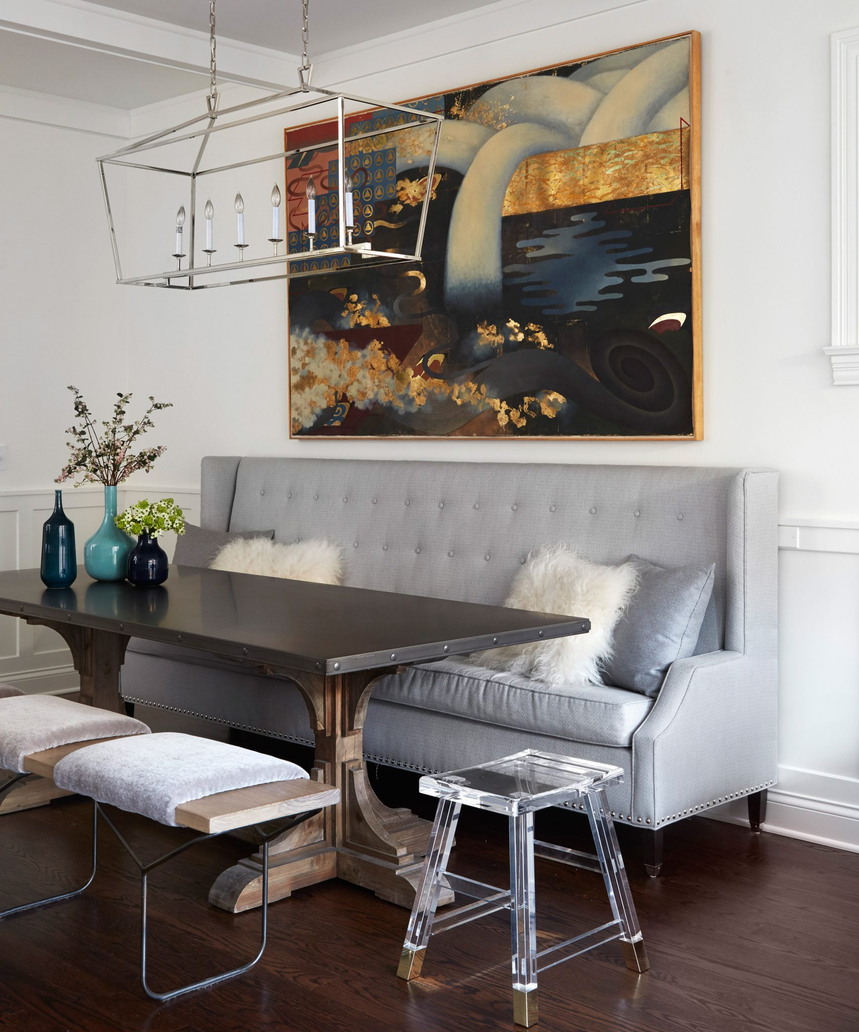 9 Rooms That Mix Traditional Contemporary Styles Chairish Blog