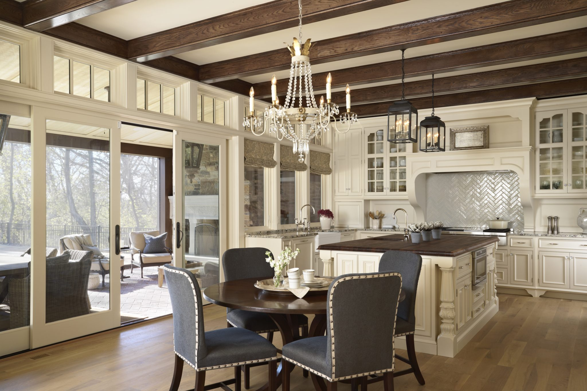 French Country Kitchen by Murphy & Co. Design