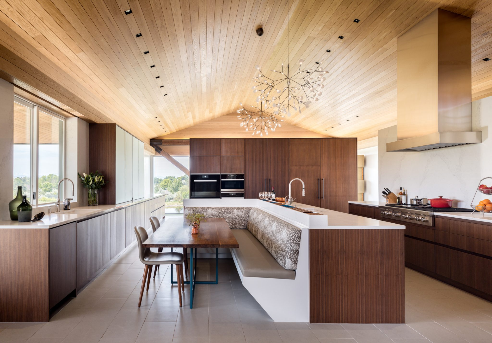A Modern Homestead in Colorado, Expansive Kitchen by Duet Design Group