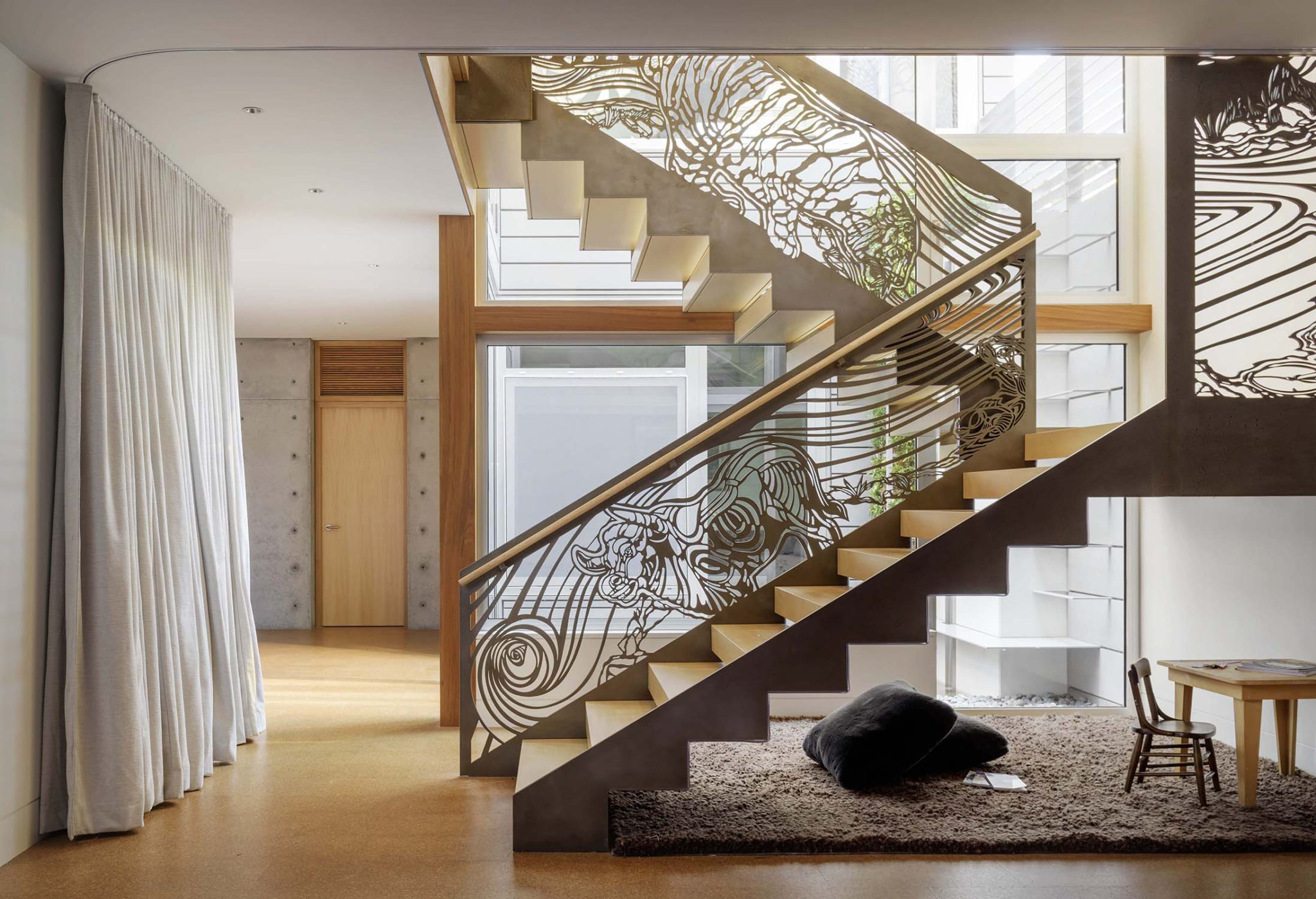 Unique Beautiful Banister Designs Chairish Blog