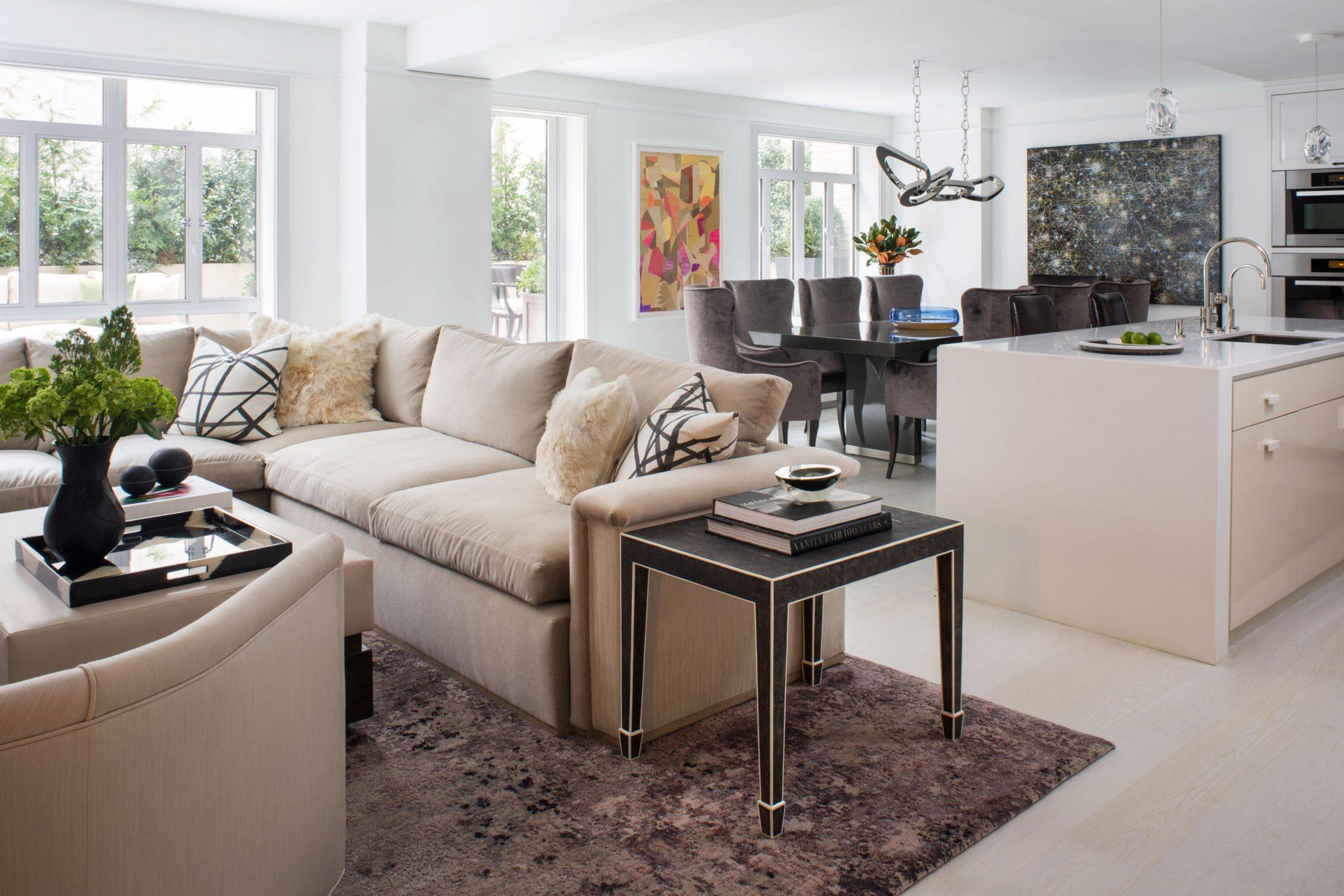 Interior design by Smith Firestone Associates