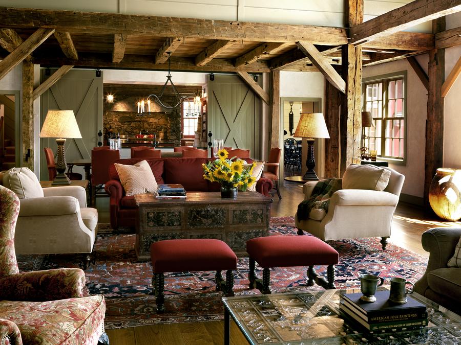 Inside Creative Barn-Style Interiors