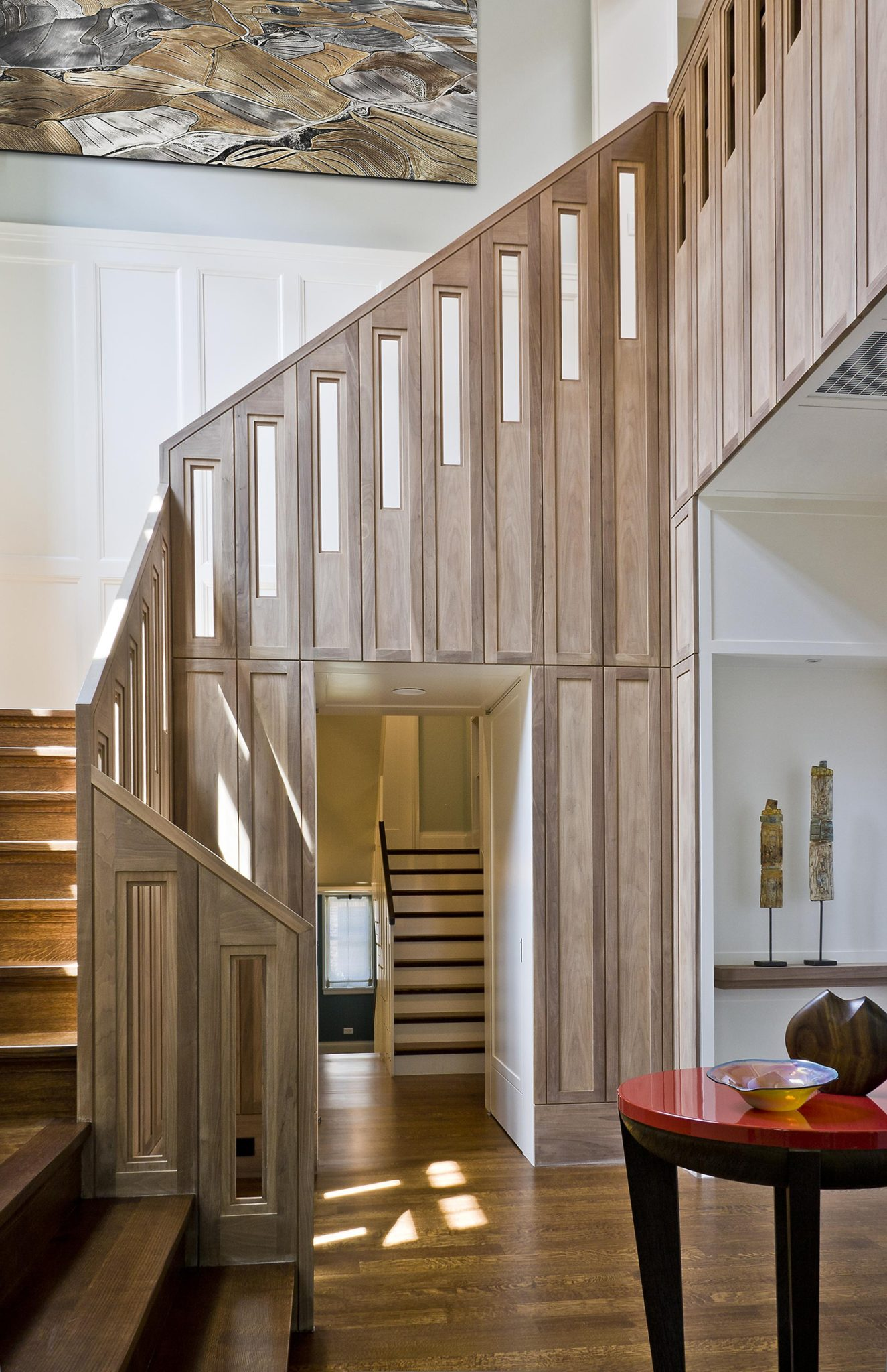 Contemporary Wooden Staircase by bba ARCHITECTS