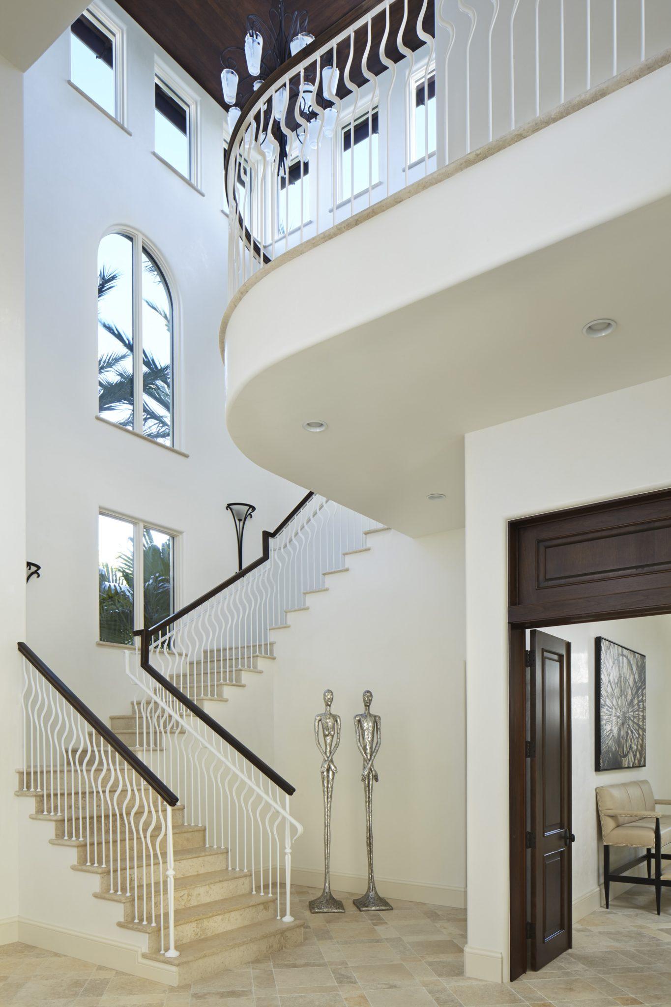 Fort Lauderdale Estate Foyer by Annie Santulli Designs