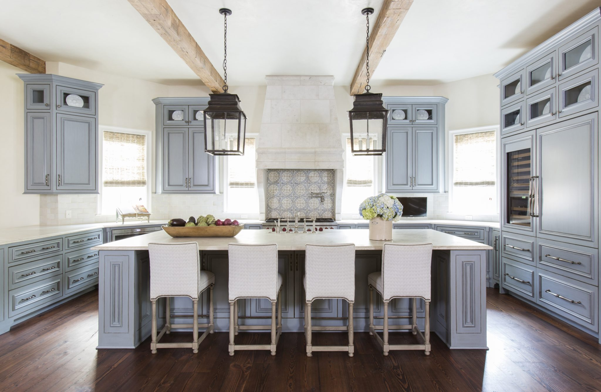 Large, Family-Friendly Kitchen by Lucas Eilers Design Associates, LLP