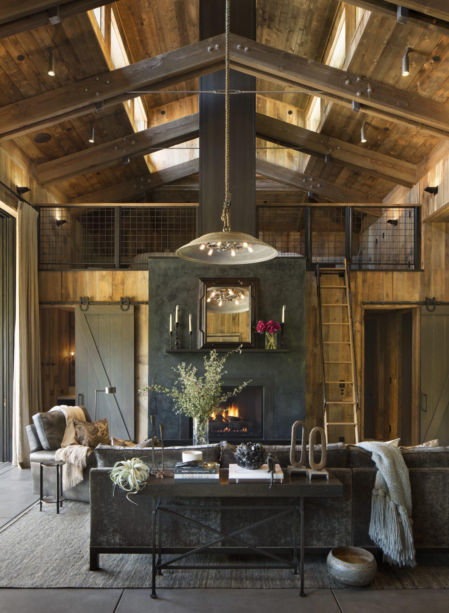 Napa Valley Barn Home by Jennifer Robin Interiors