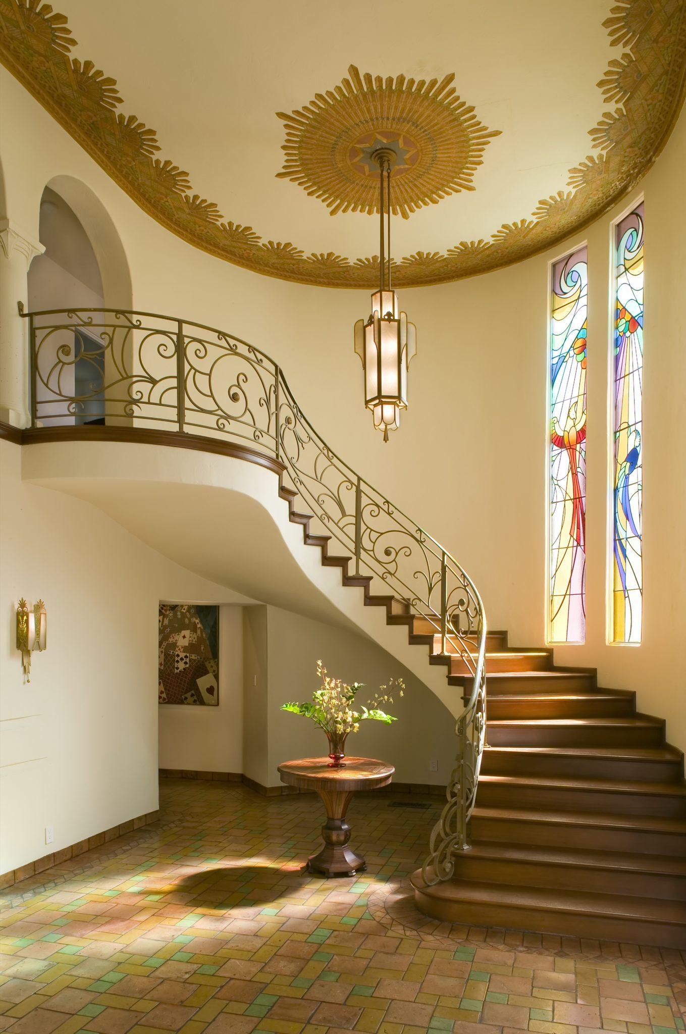 La Canada Mediterranean Art Deco by Everage Design, Inc.