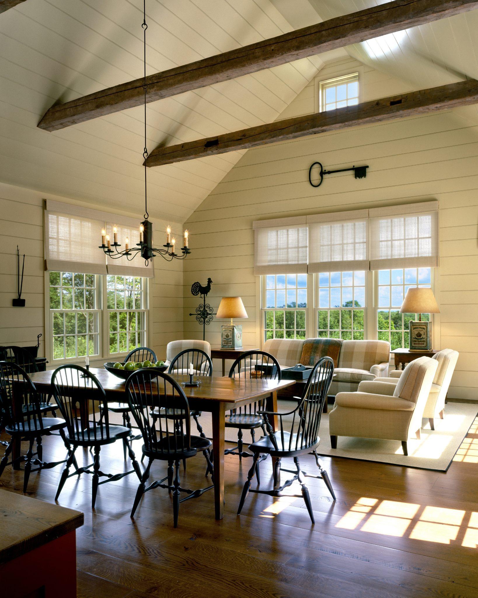 Sun Room, Hilltop Barn House by Haver & Skolnick Architects