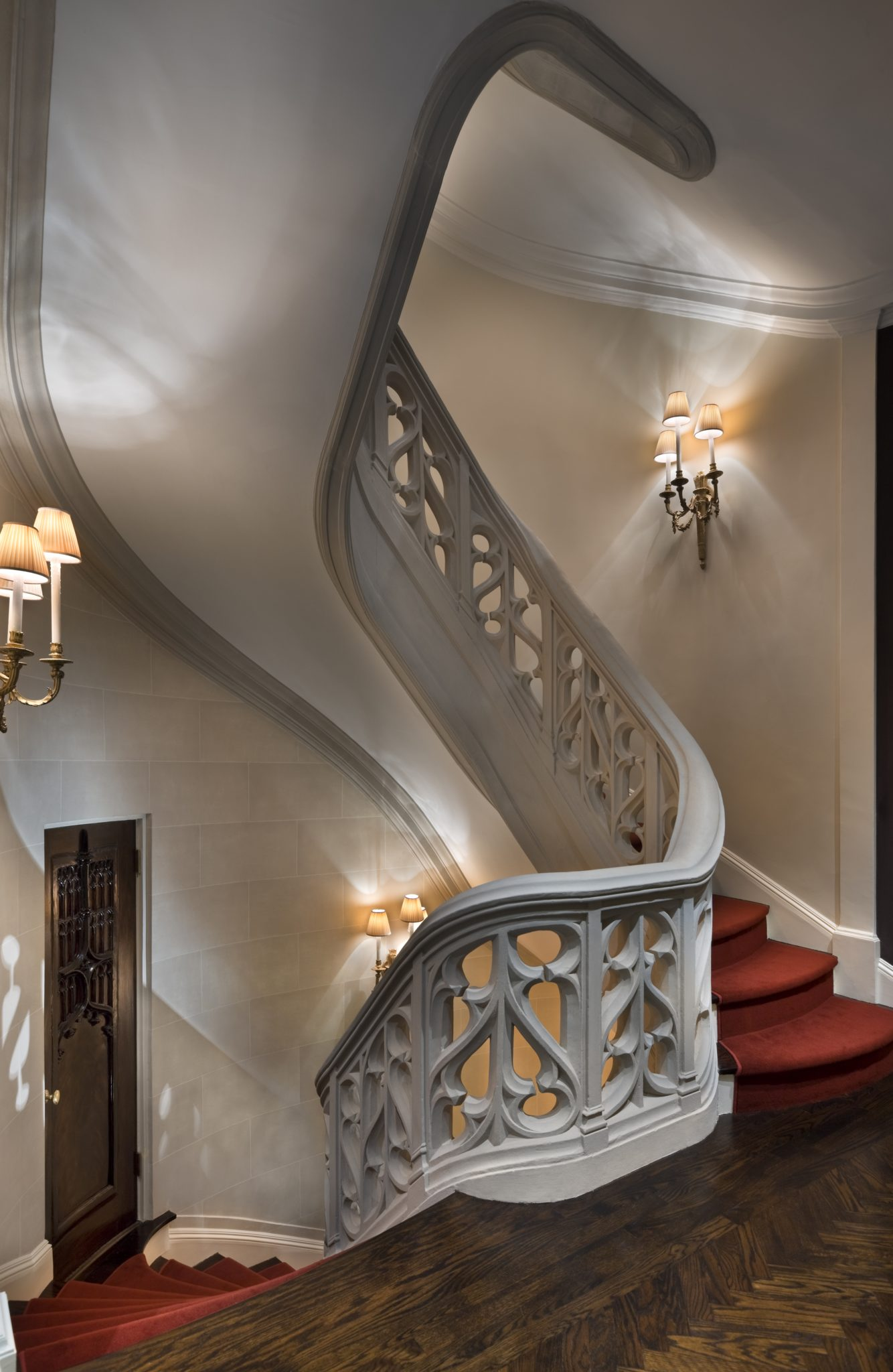 Historic New York City Townhouse Major Renovation - Staircase by Brian O'Keefe Architect