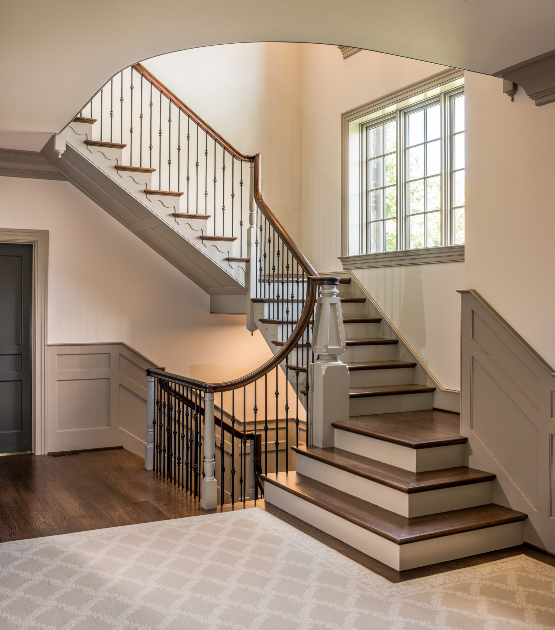 Private Residence Traditional Staircase in Greenville, Delaware by Period Architecture