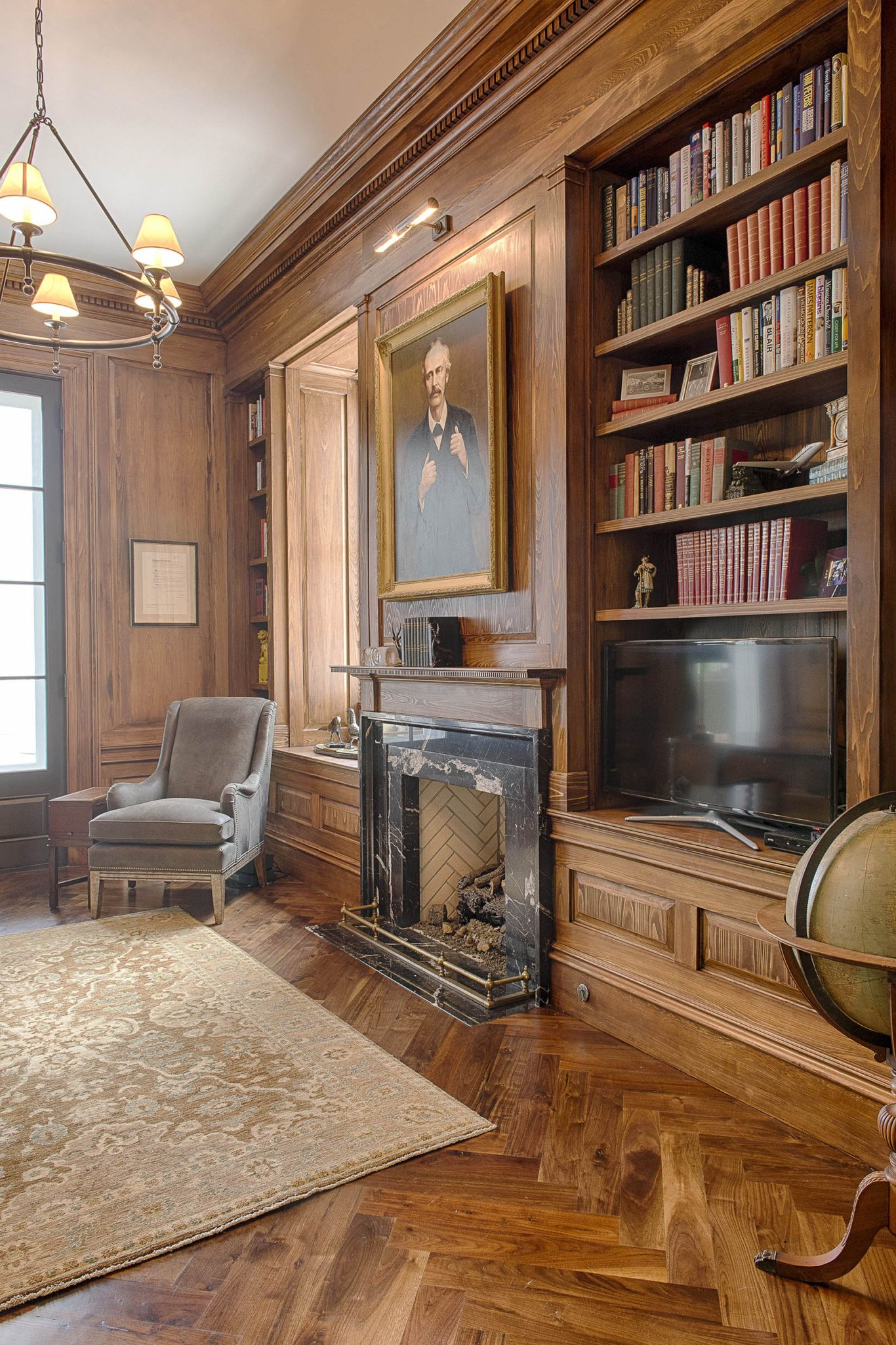 GENTLEMAN'S STUDY | Whitemarsh Island, Georgia by Historical Concepts