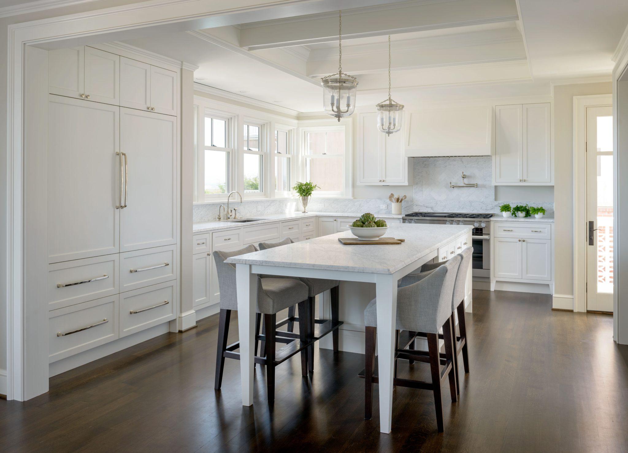 Charming kitchen design by Marianne Simon Design
