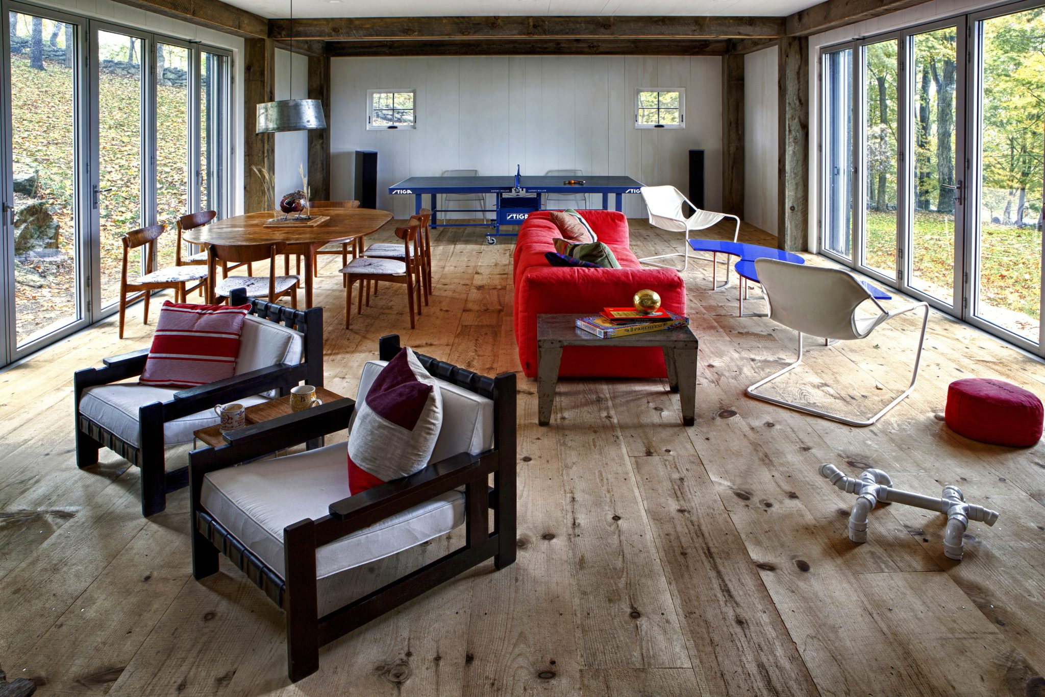 Cornwall, CT Game Barn by Fawn Galli Interiors