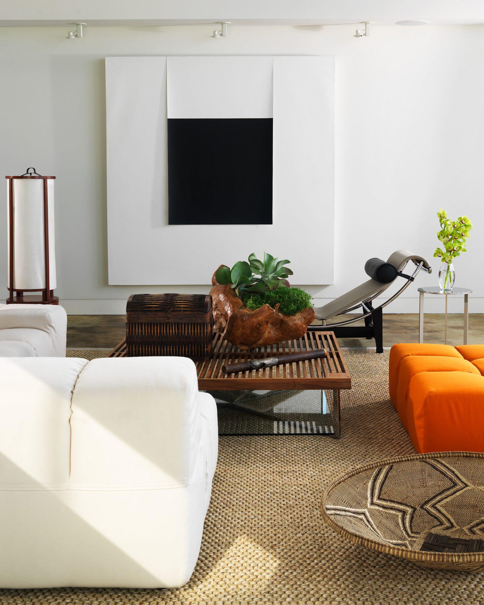Glass House, Living Room, by Santopietro Interiors