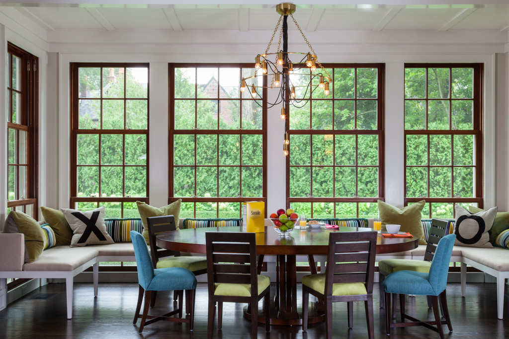 Dining Room by Gauthier~Stacy Inc.