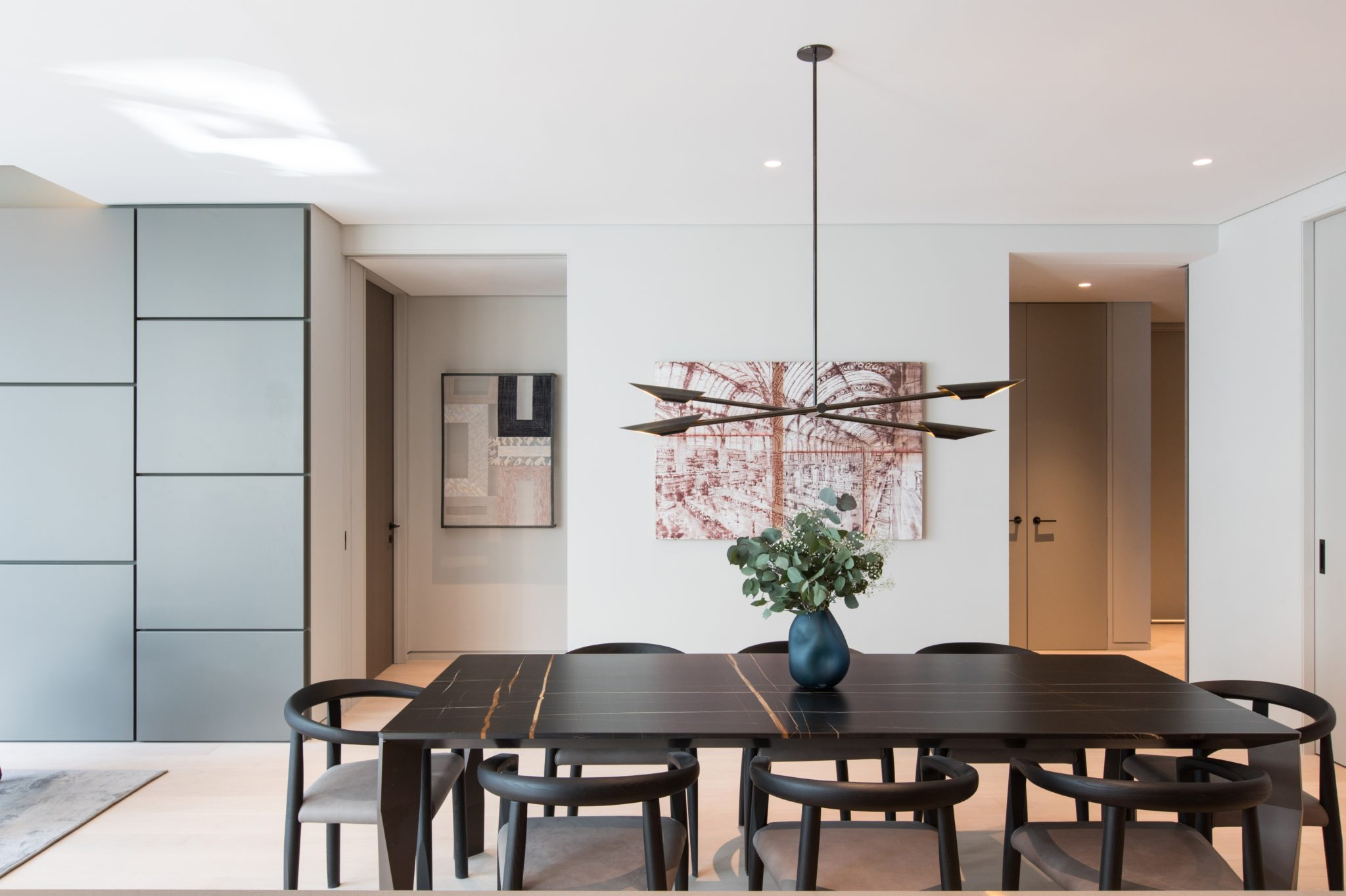 Chelsea High Line dining room by B Interior LLC