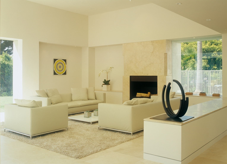 An inviting living room by Chimera Interiors, LLC.