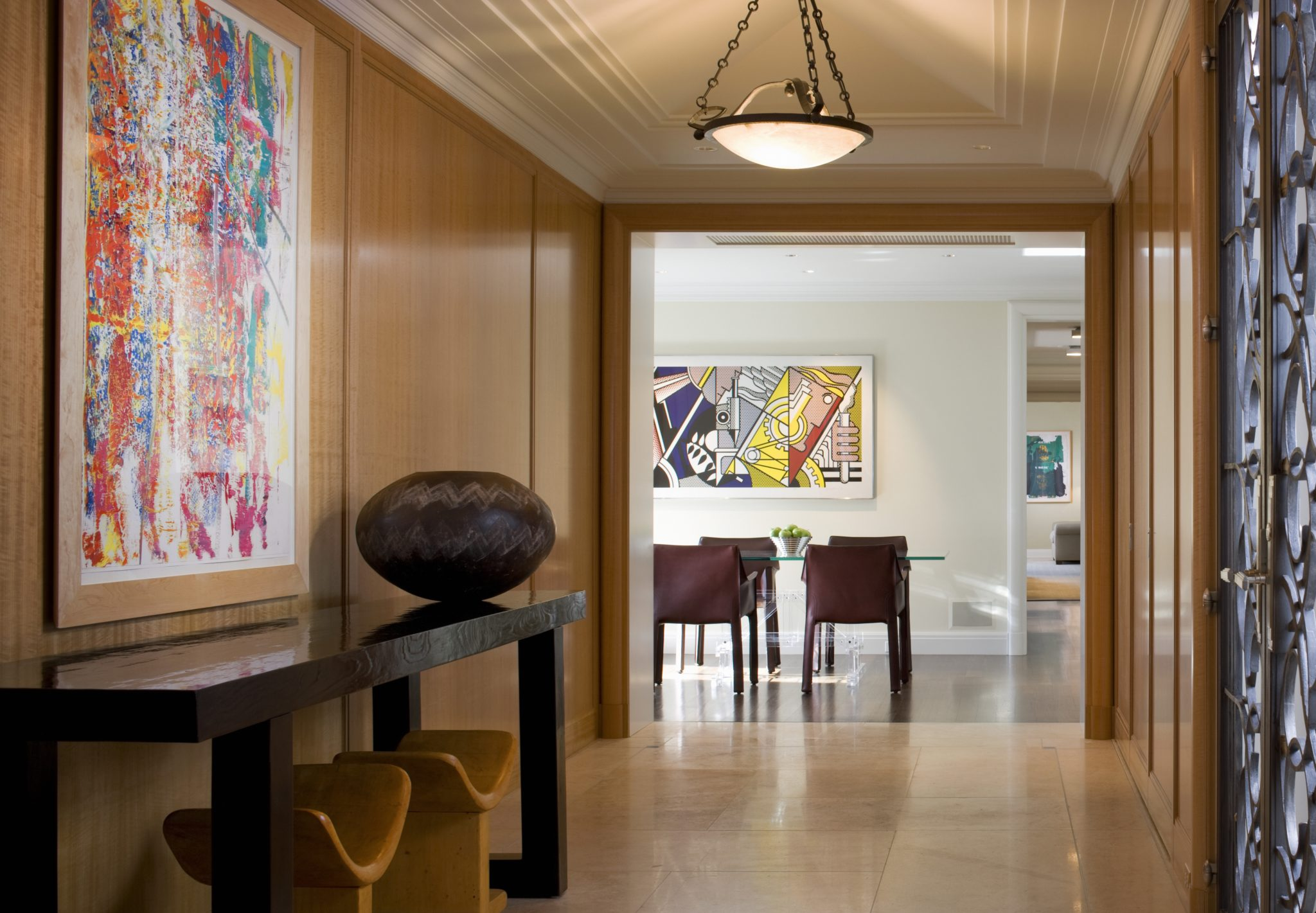 Lake Shore Drive Apartment Foyer by Bruce Fox