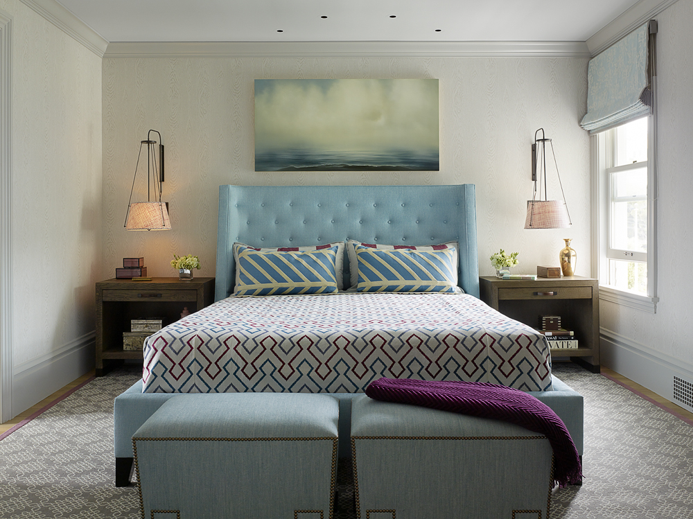 San Francisco Contemporary Bedroom Room (COUN) by Jay Jeffers