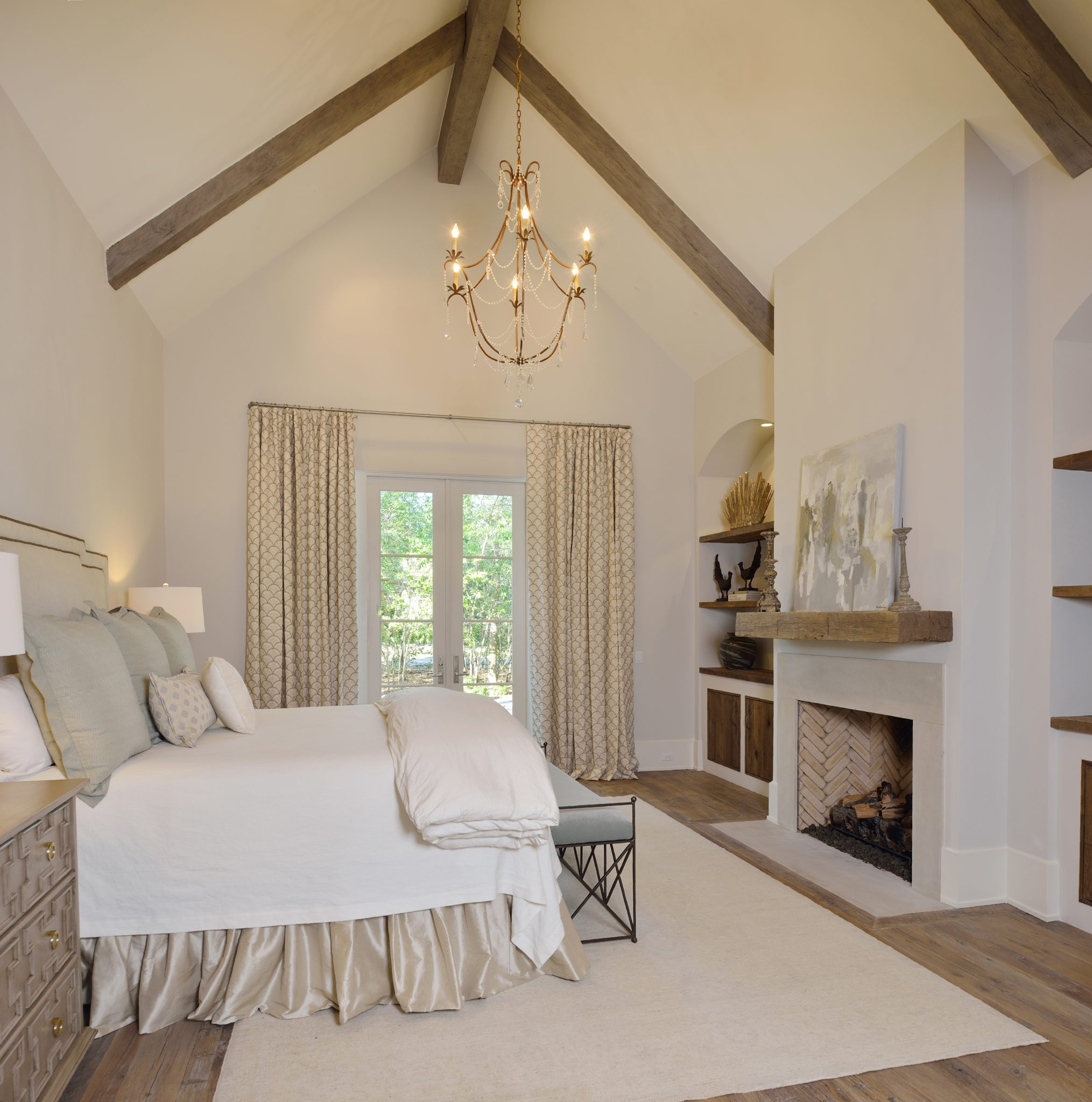 Mockingbird master bedroom retreat by Cindy Witmer Designs