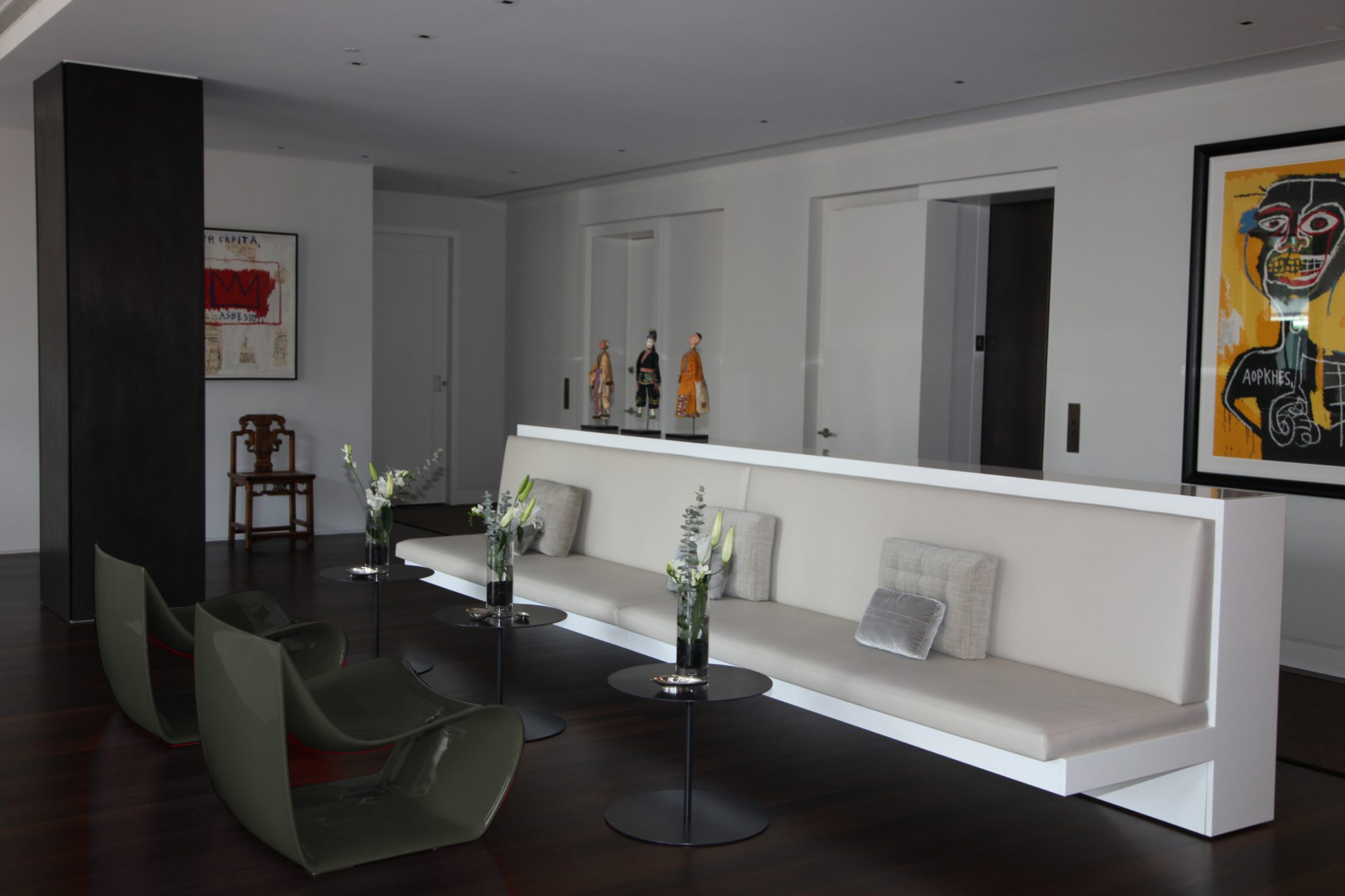 NoHo Loft   Living Room by Katch I.D. Interiors