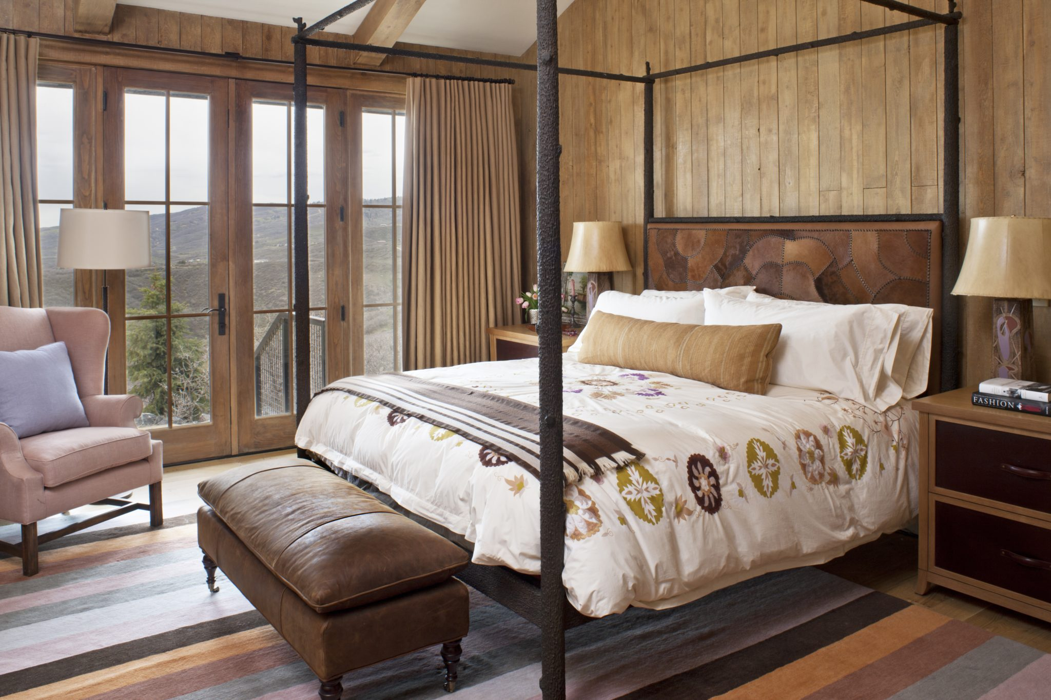 Relaxing Bedrooms with Wood Paneling - Chairish Blog