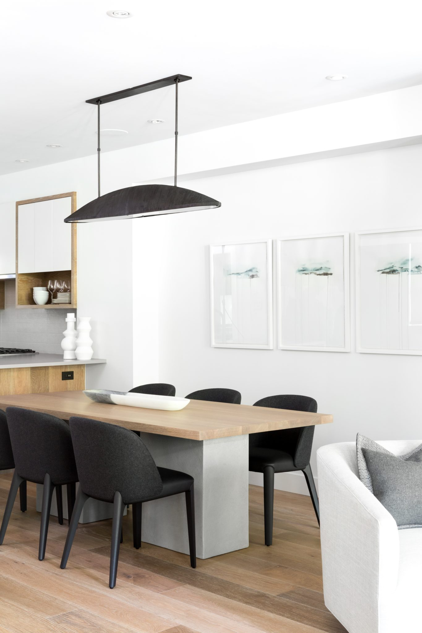 Dining Room | Blackcomb Way Residence by Stephanie Brown Inc.