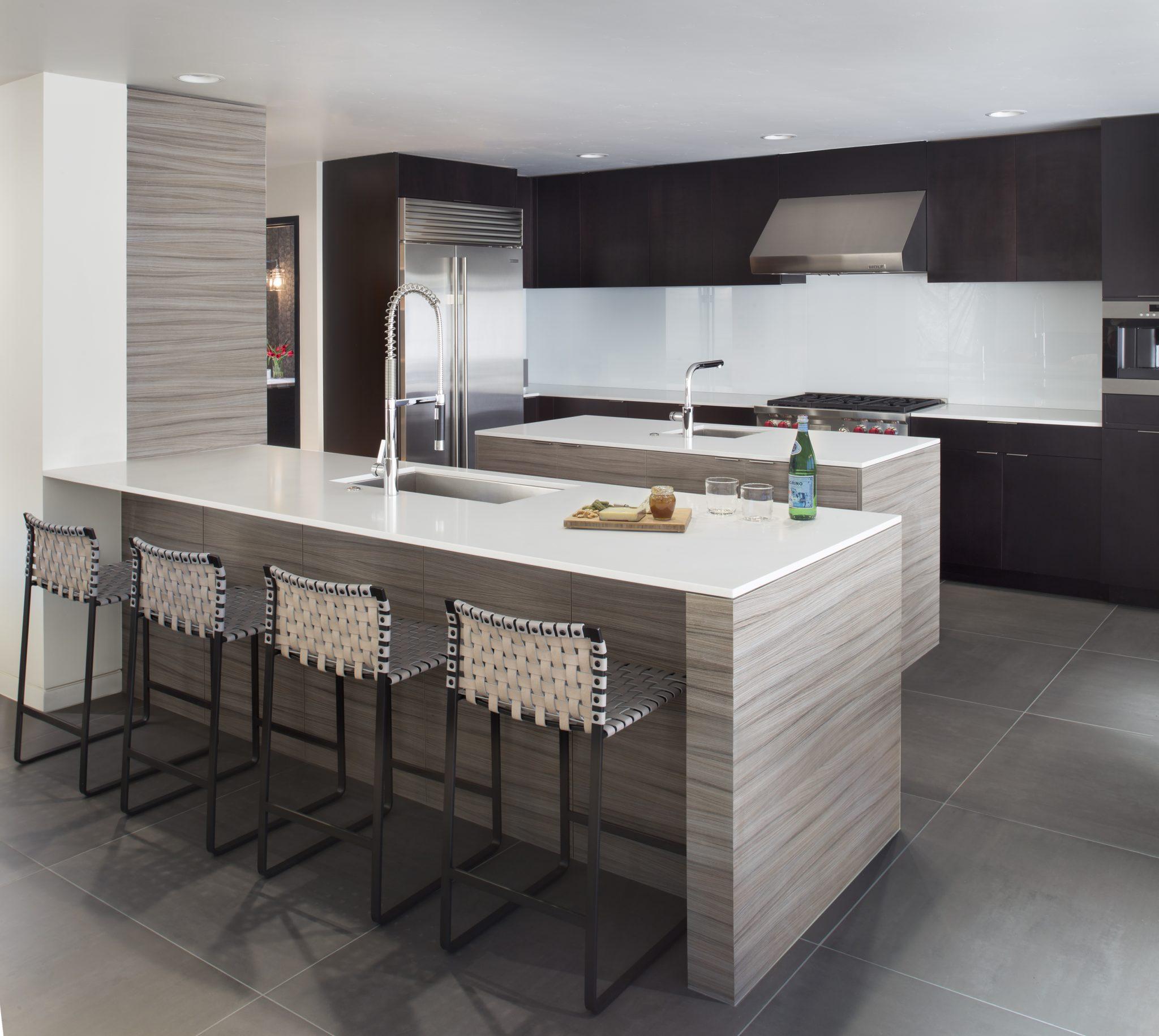 Snowmass Contemporary Kitchen by Della + Zella Interiors