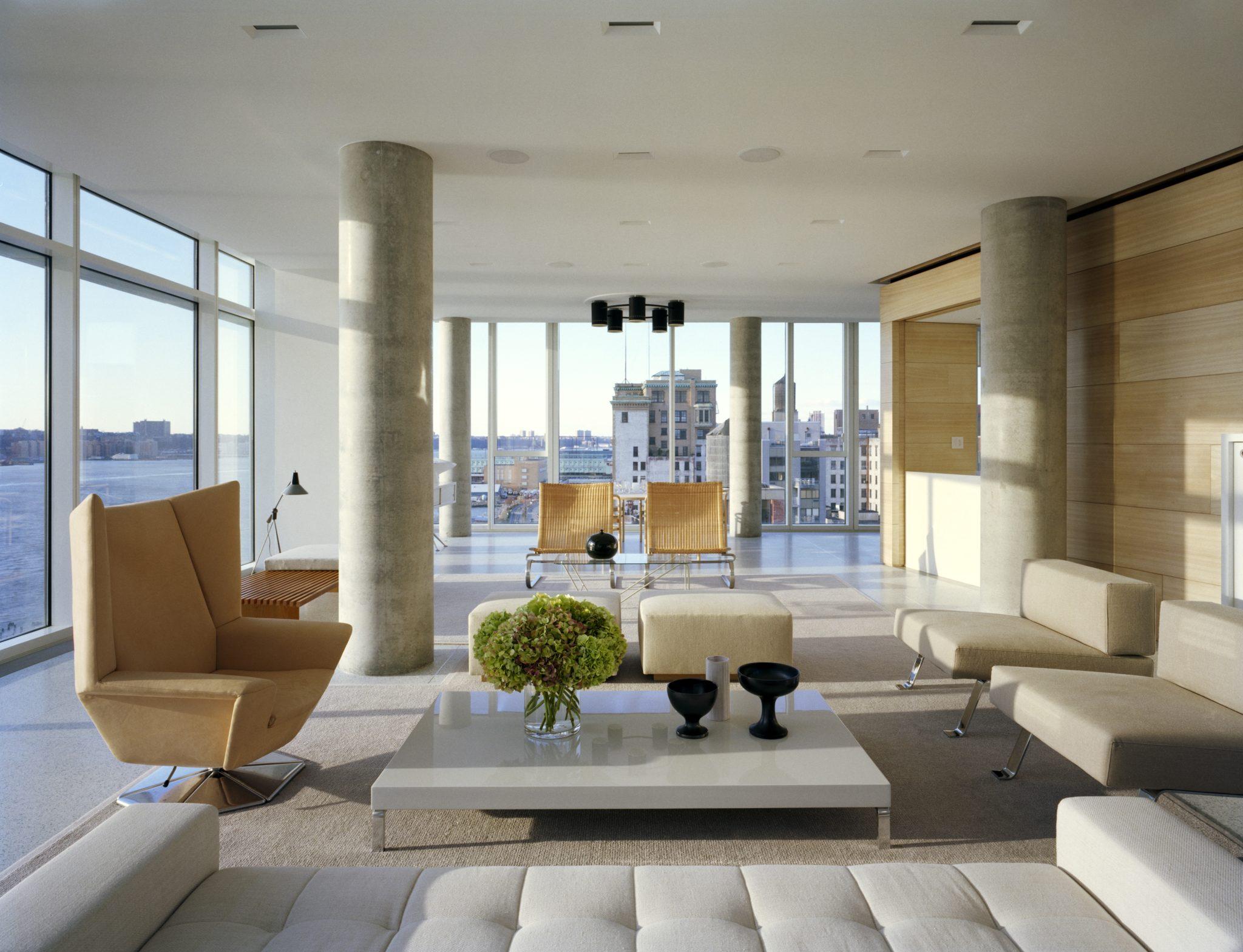 SheltonMindel Project: Hudson River Residence by SheltonMindel℠