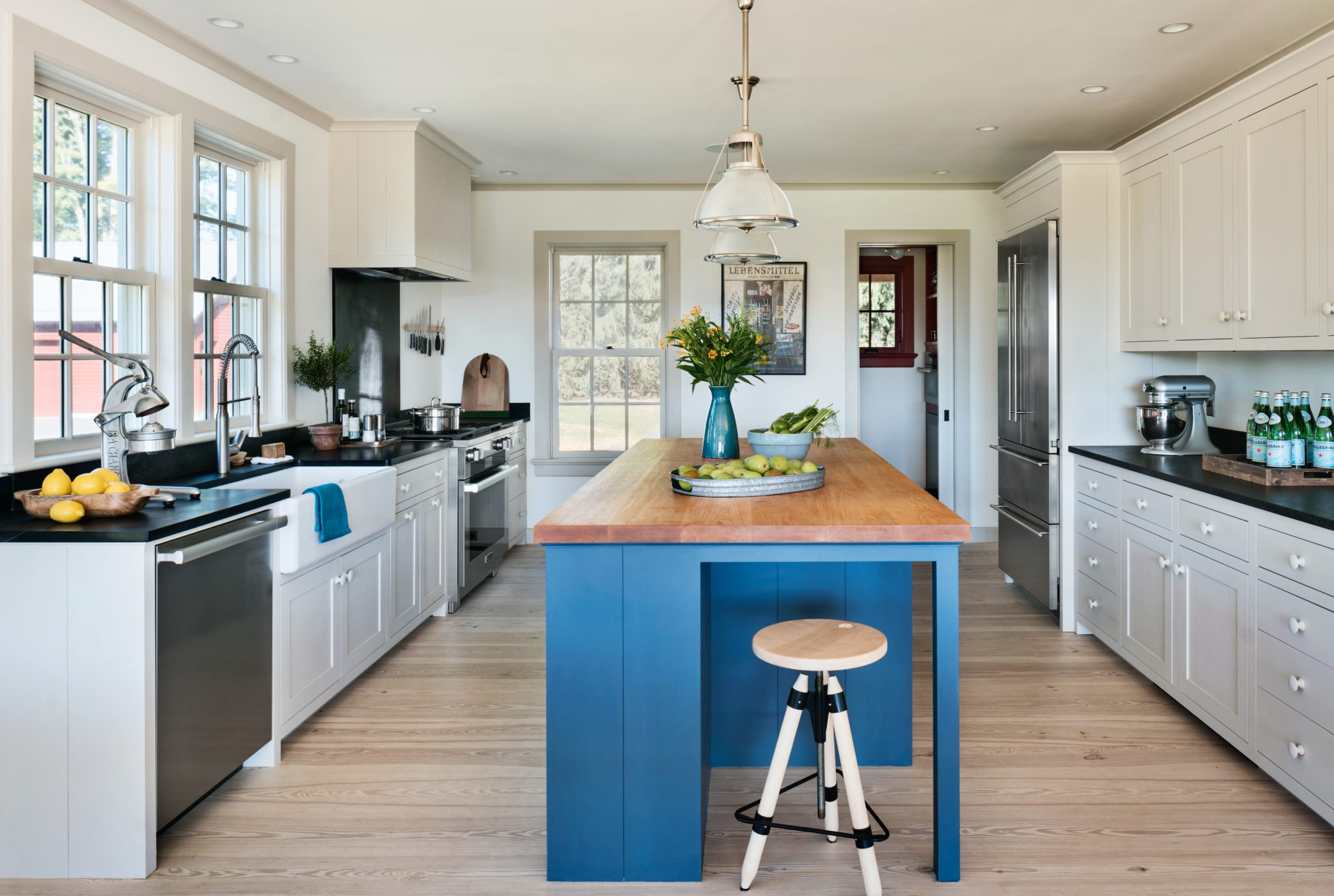 25 Kitchens With Butcher Block Islands Chairish Blog