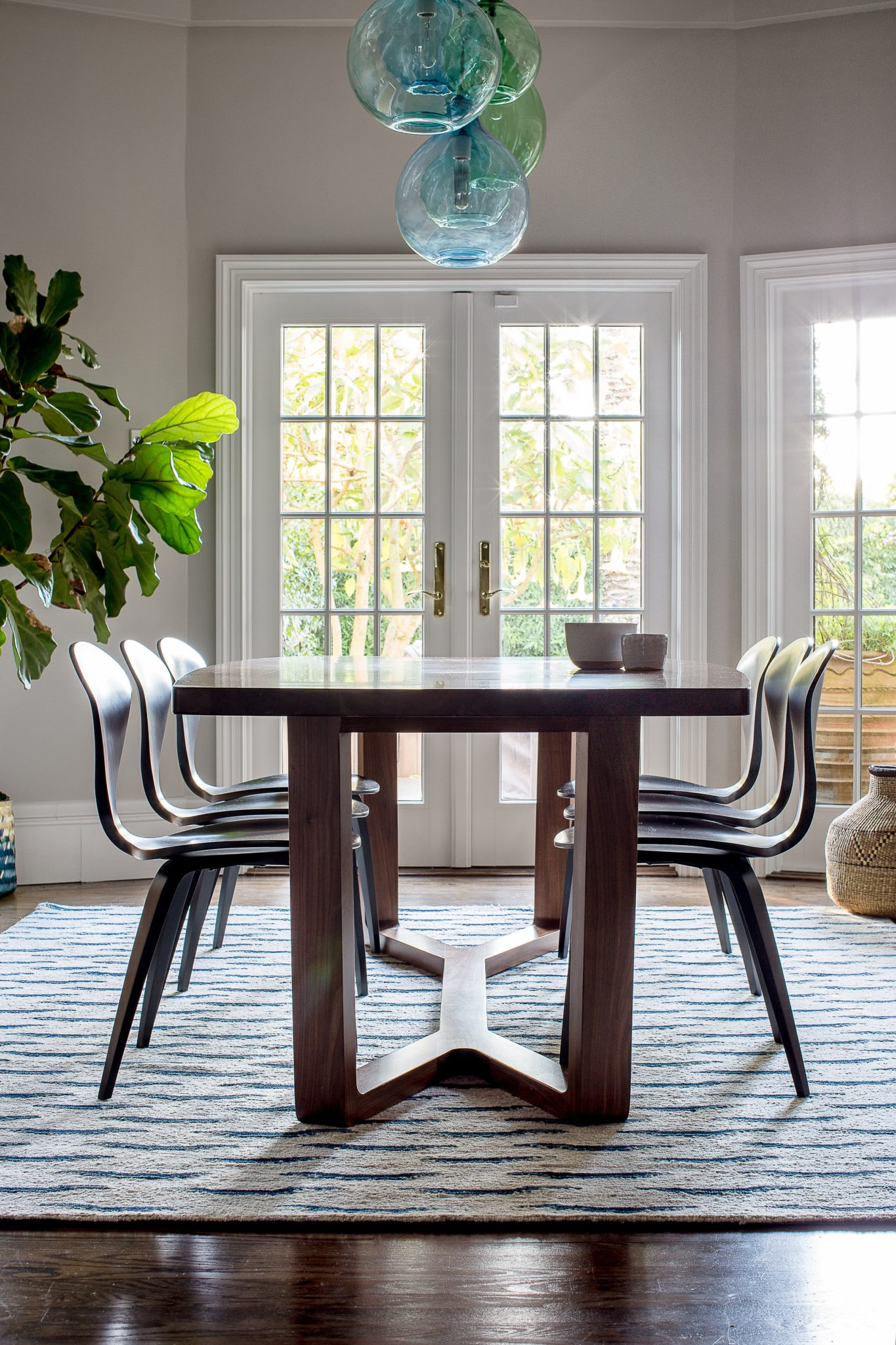 California Street Dining Room by Lauren Nelson Design