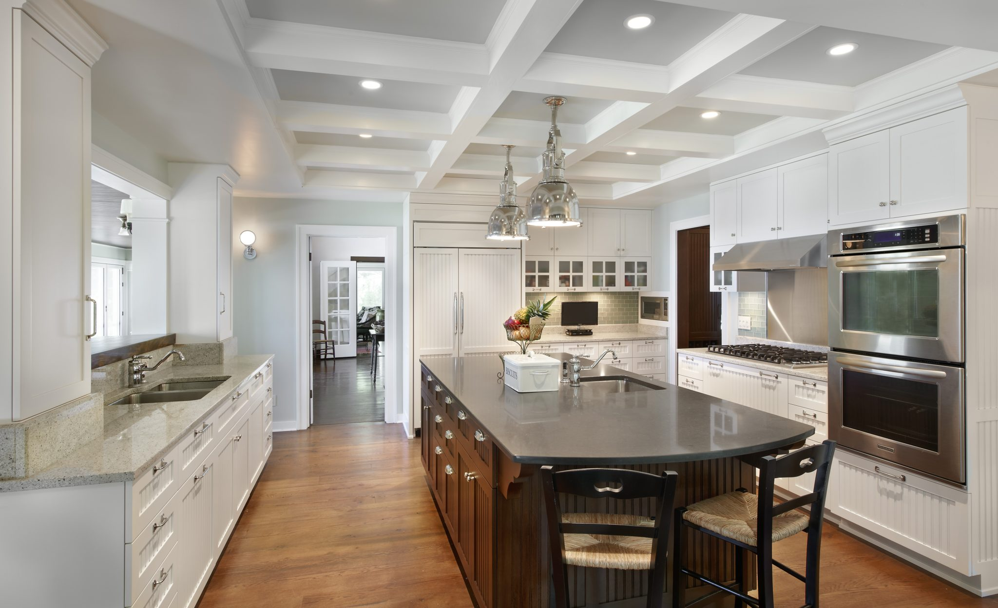 30 Elegant Rooms With Coffered Ceilings Chairish Blog