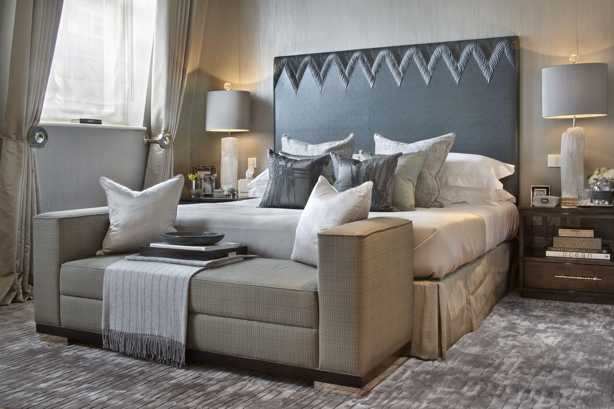 Master bedroom by Katharine Pooley