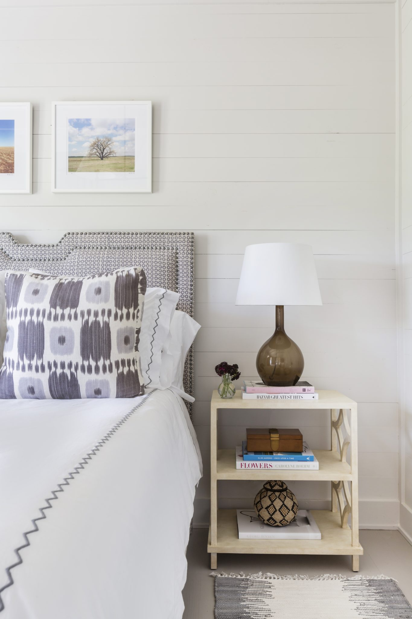 Farmhouse bedroom design by Courtney Hill Interiors