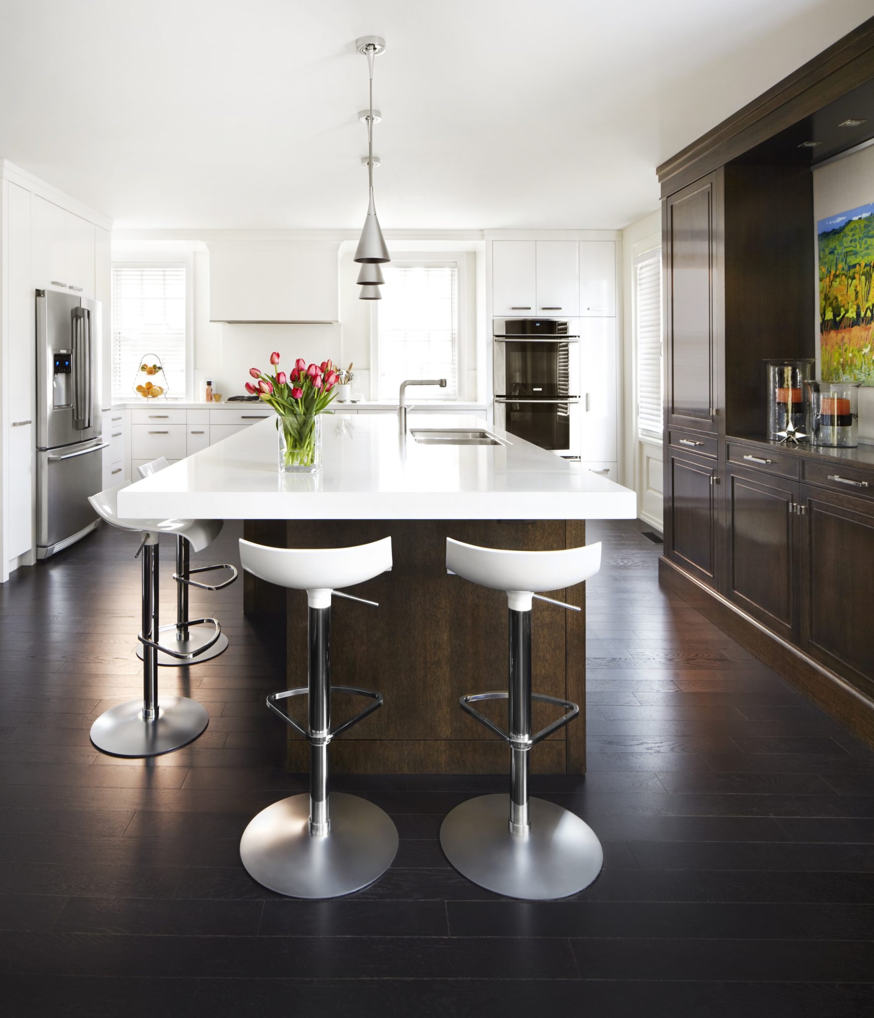 South Rosedale contemporary renovation by Rowlands Associates