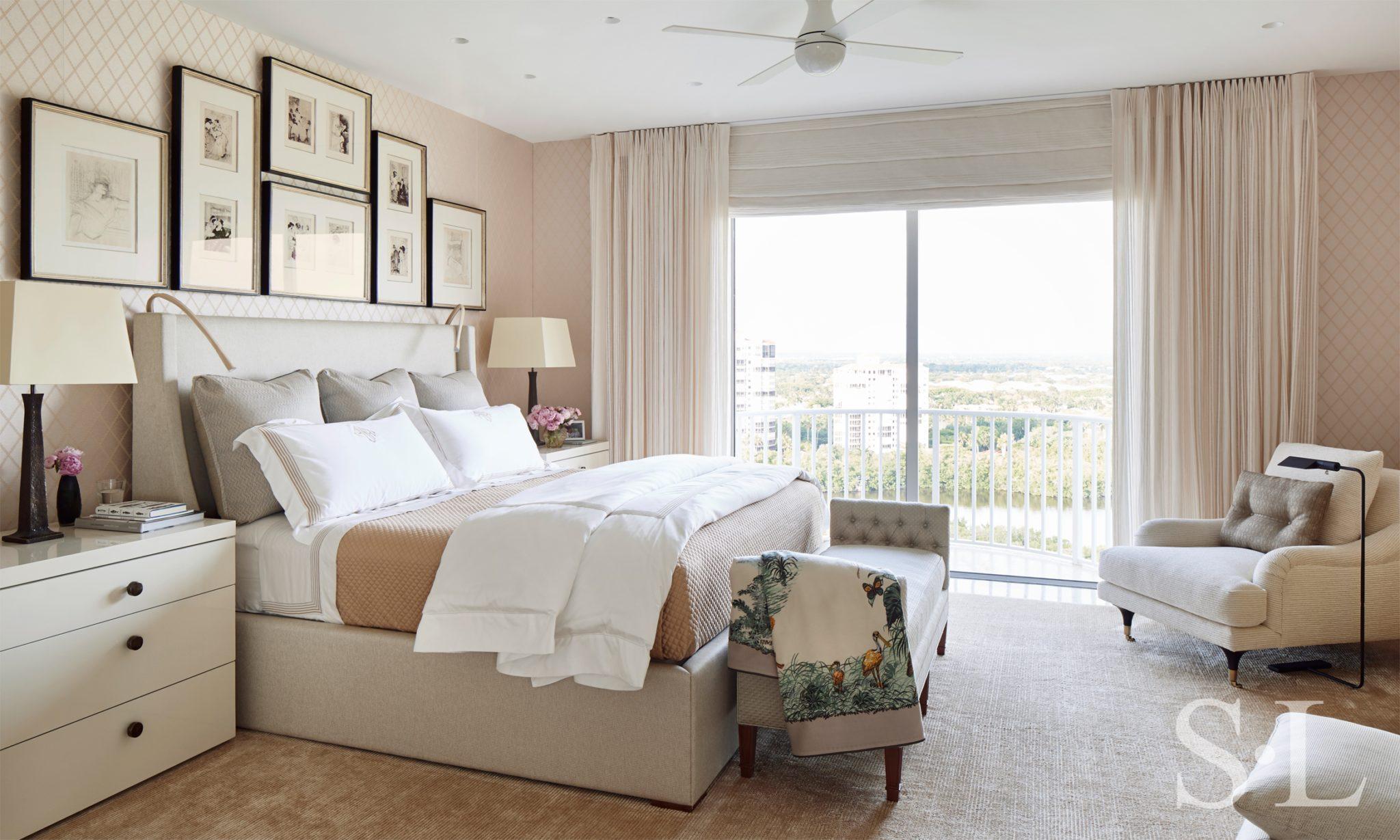 Gulf Coast penthouse by Suzanne Lovell Inc.