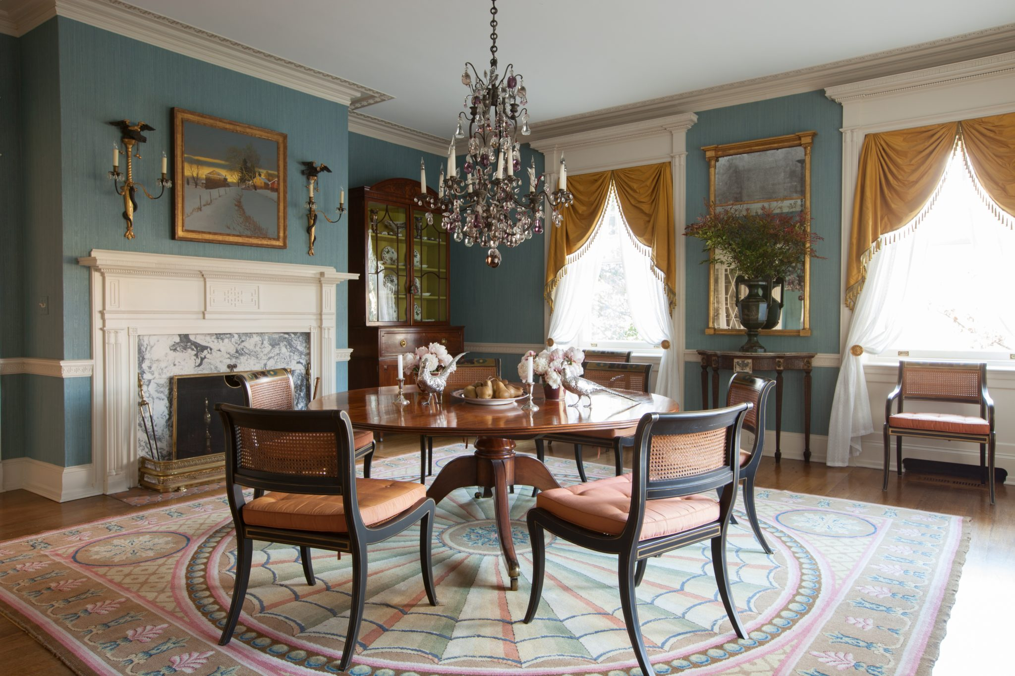 Centreville Delaware House: Dining Room by Brockschmidt & Coleman, LLC