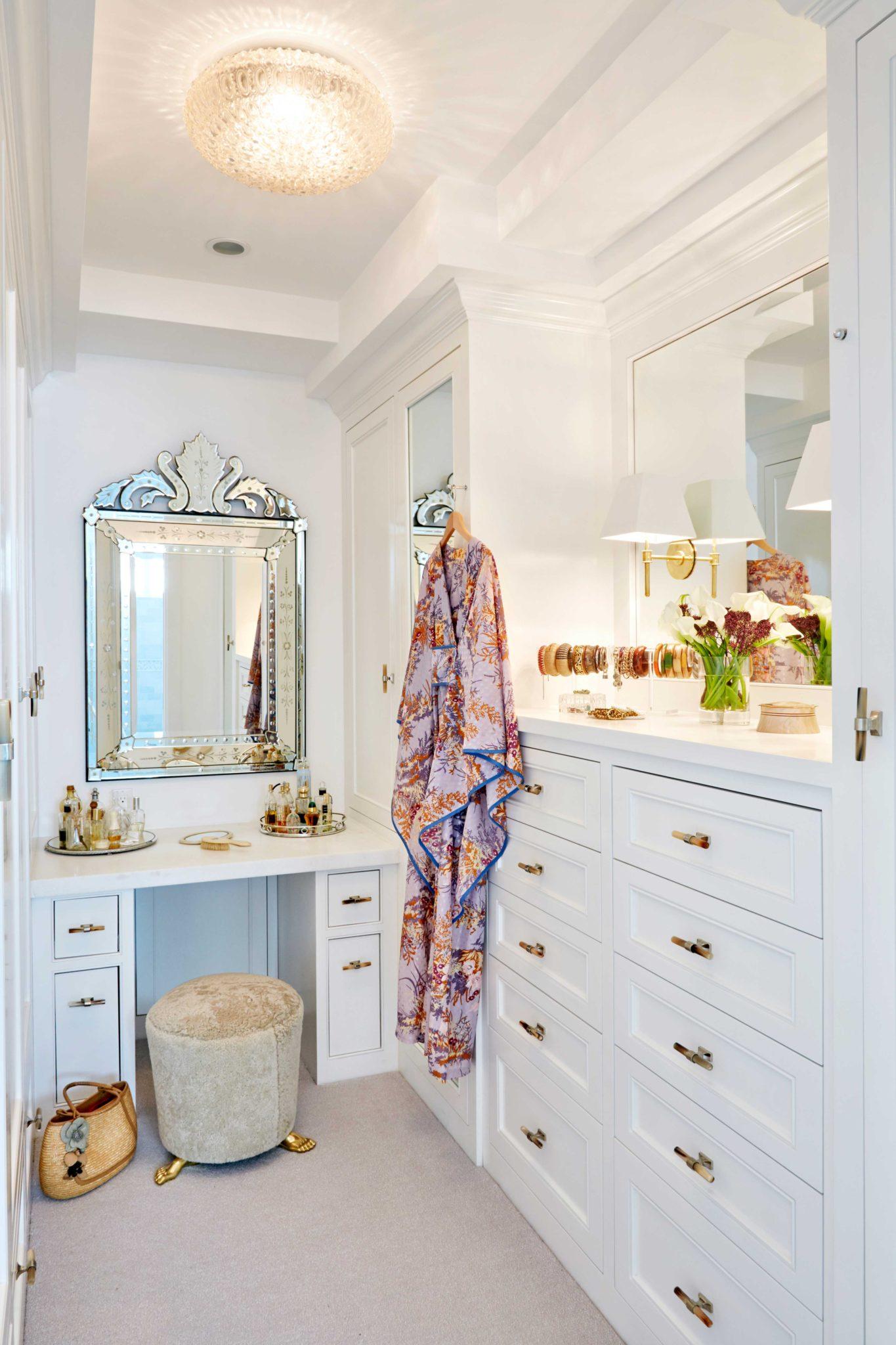 Manhattan Beach Project - Dressing Room by Erin King Interiors