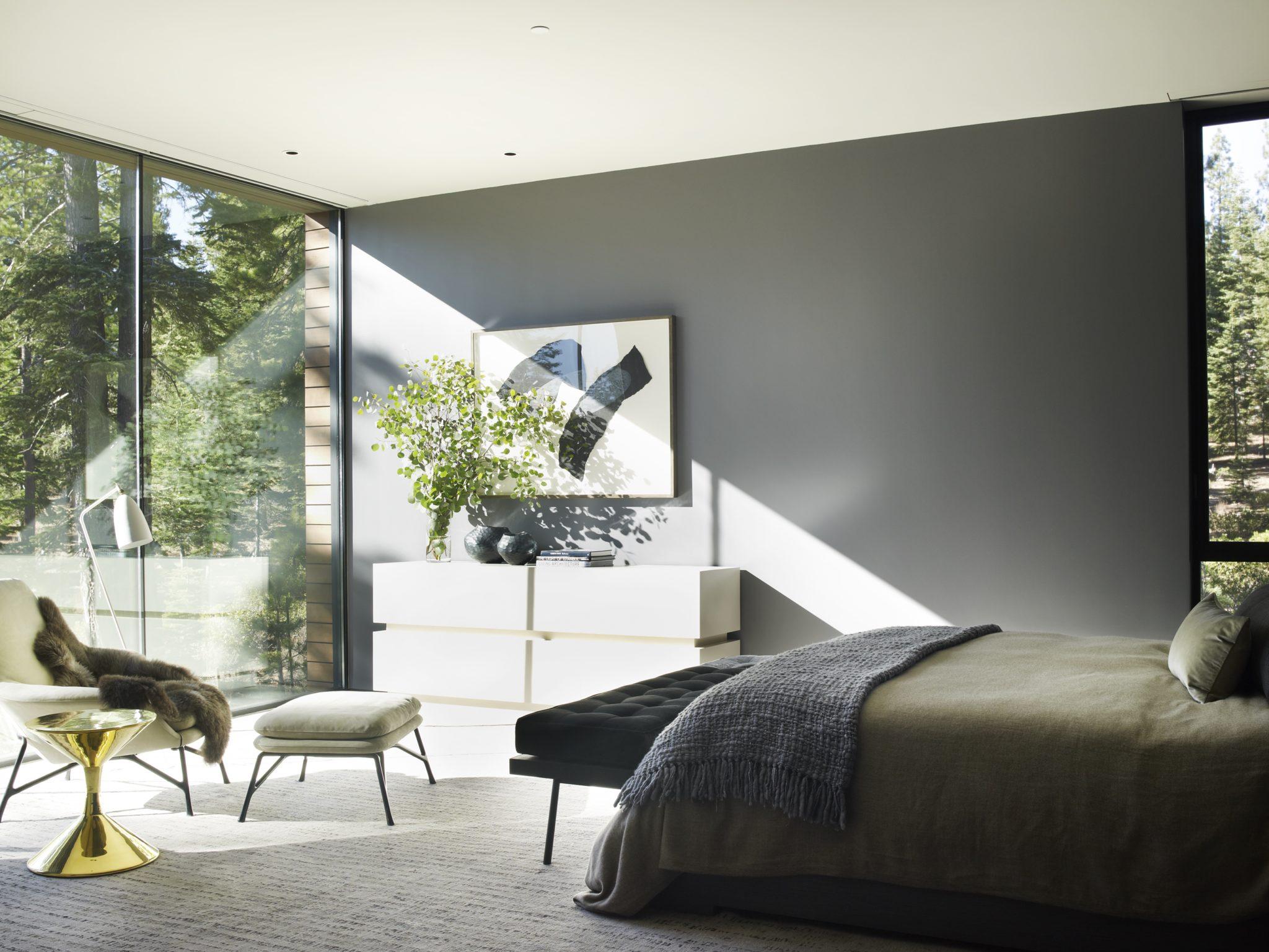 Modern bedroom by Jamie Bush & Co.