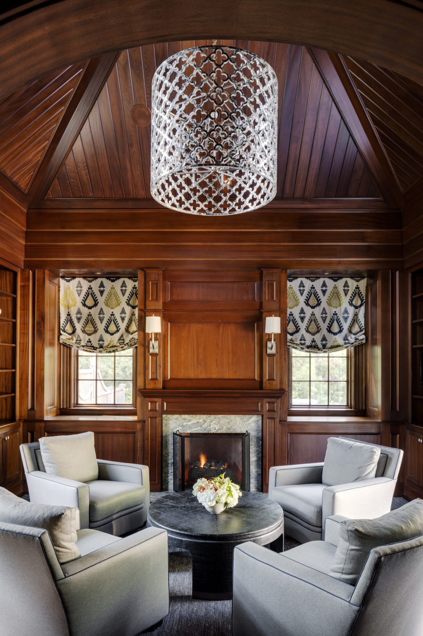 Cliff Side | Wellesley, MA by Patrick Ahearn Architect