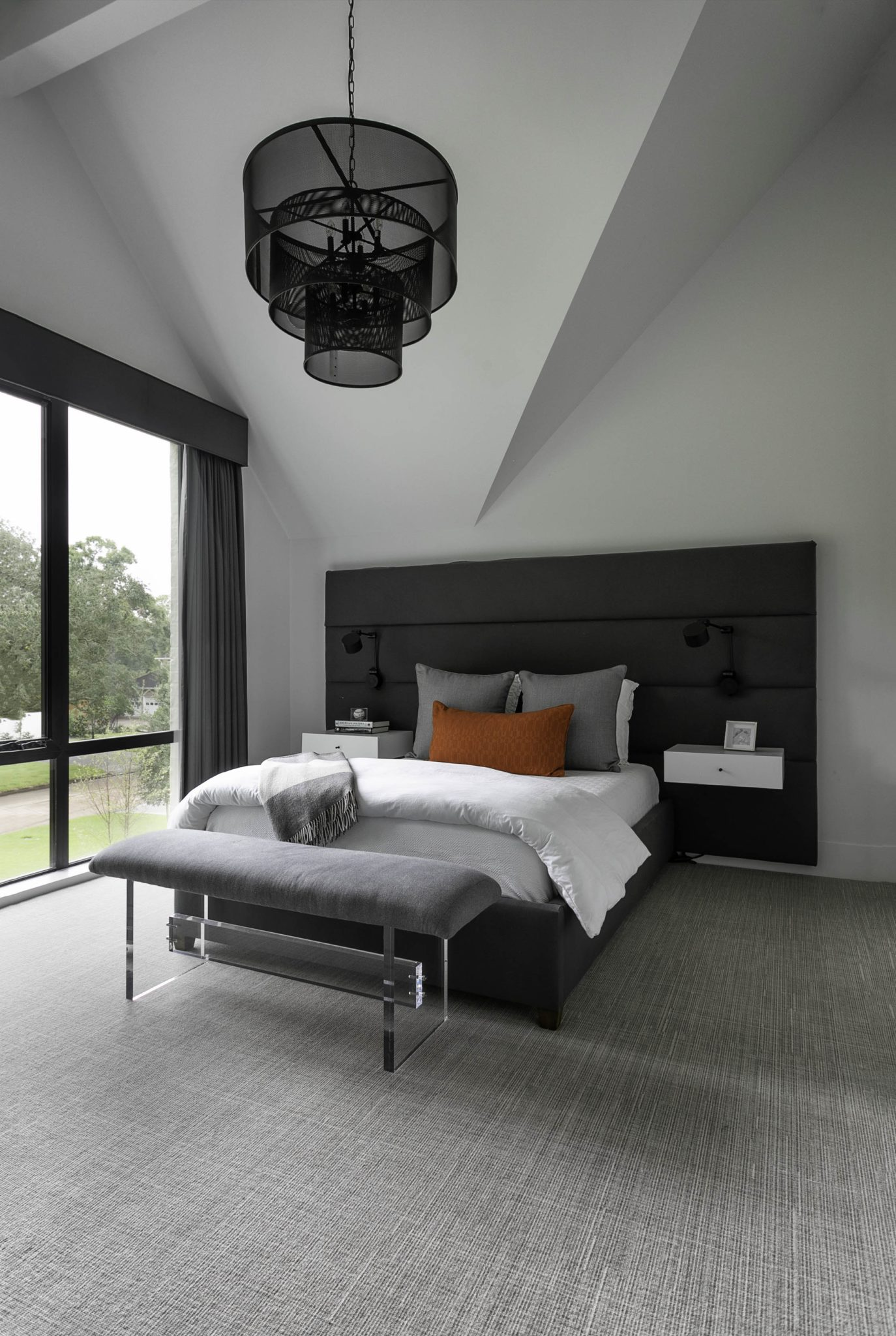 Stylish Bedrooms With Oversized Headboards Chairish Blog