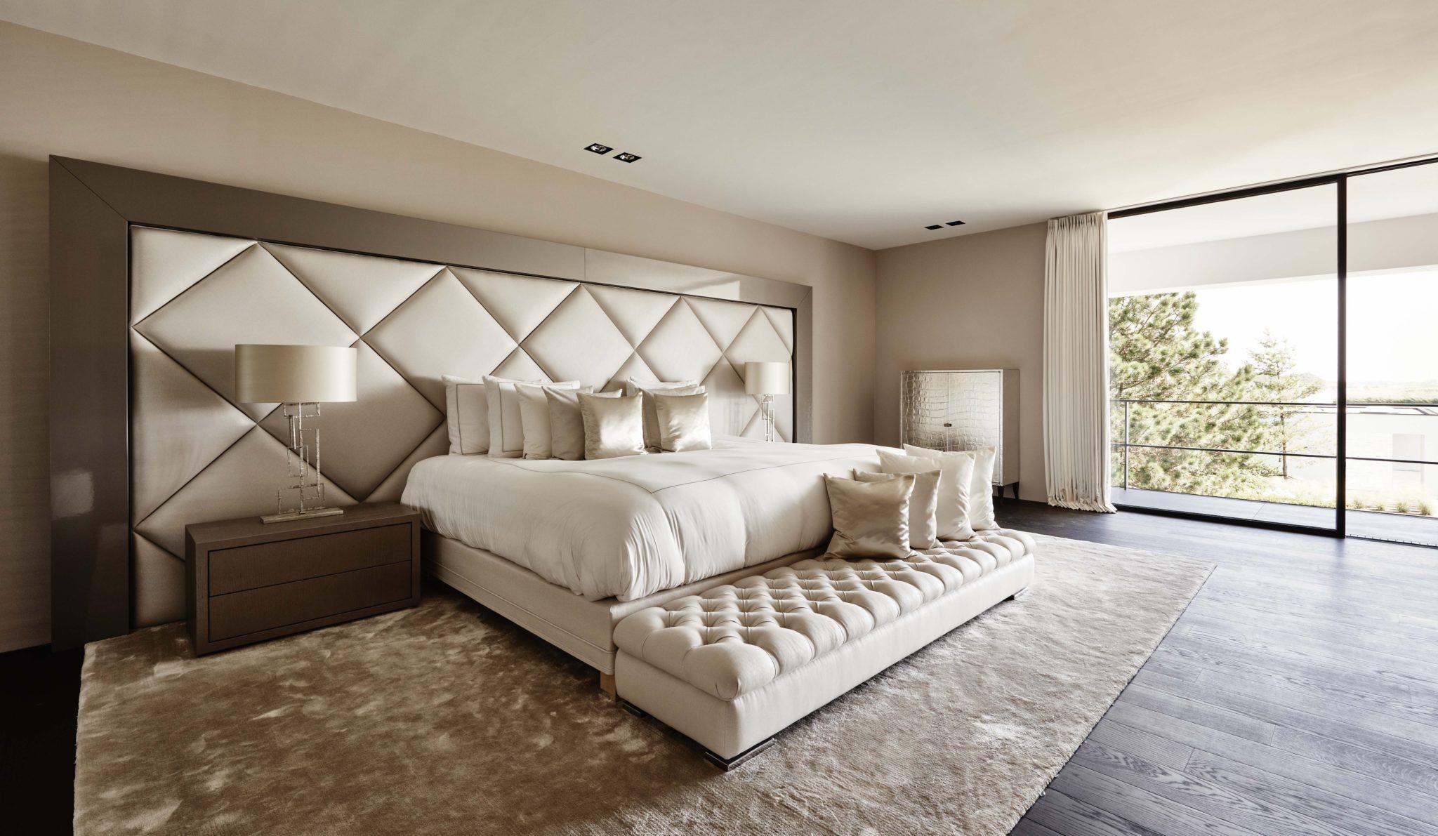 The Netherlands lakeside villa master bedroom by Eric Kuster Metropolitan Luxury