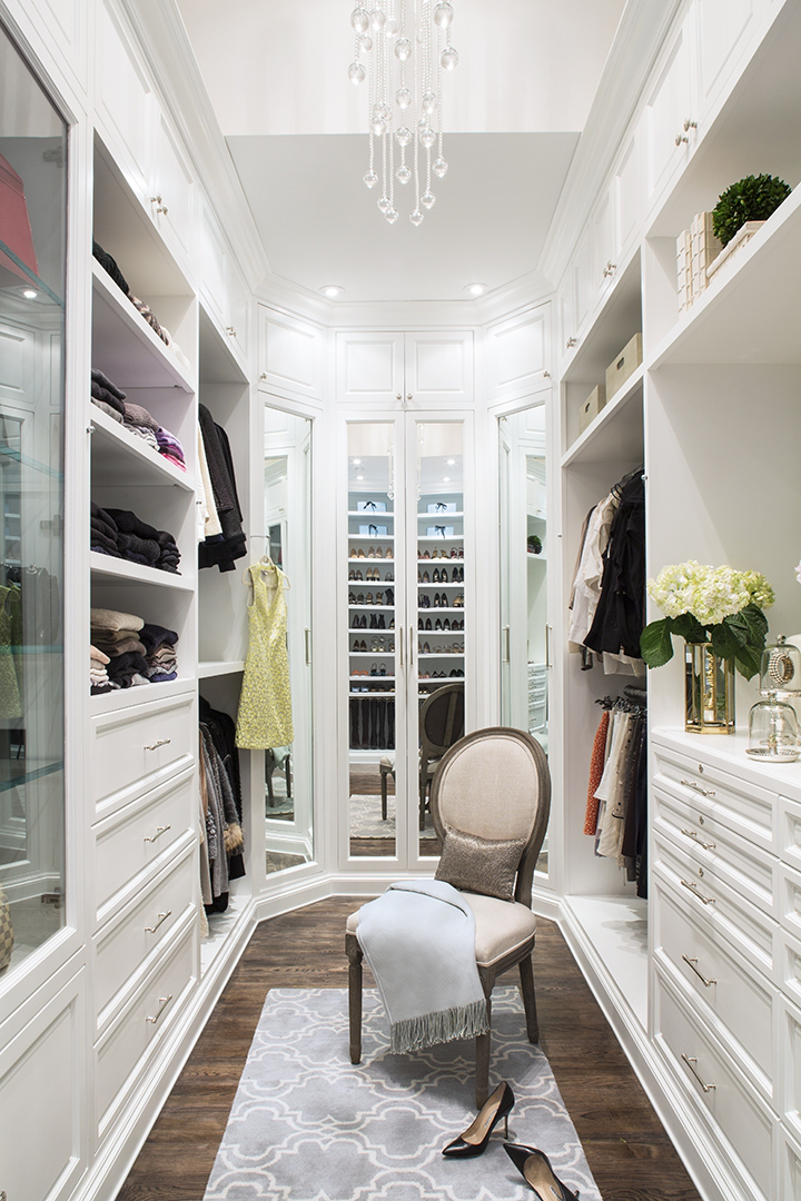 Private Residence Master Closet - Hollywood Hills, California by SFA Design