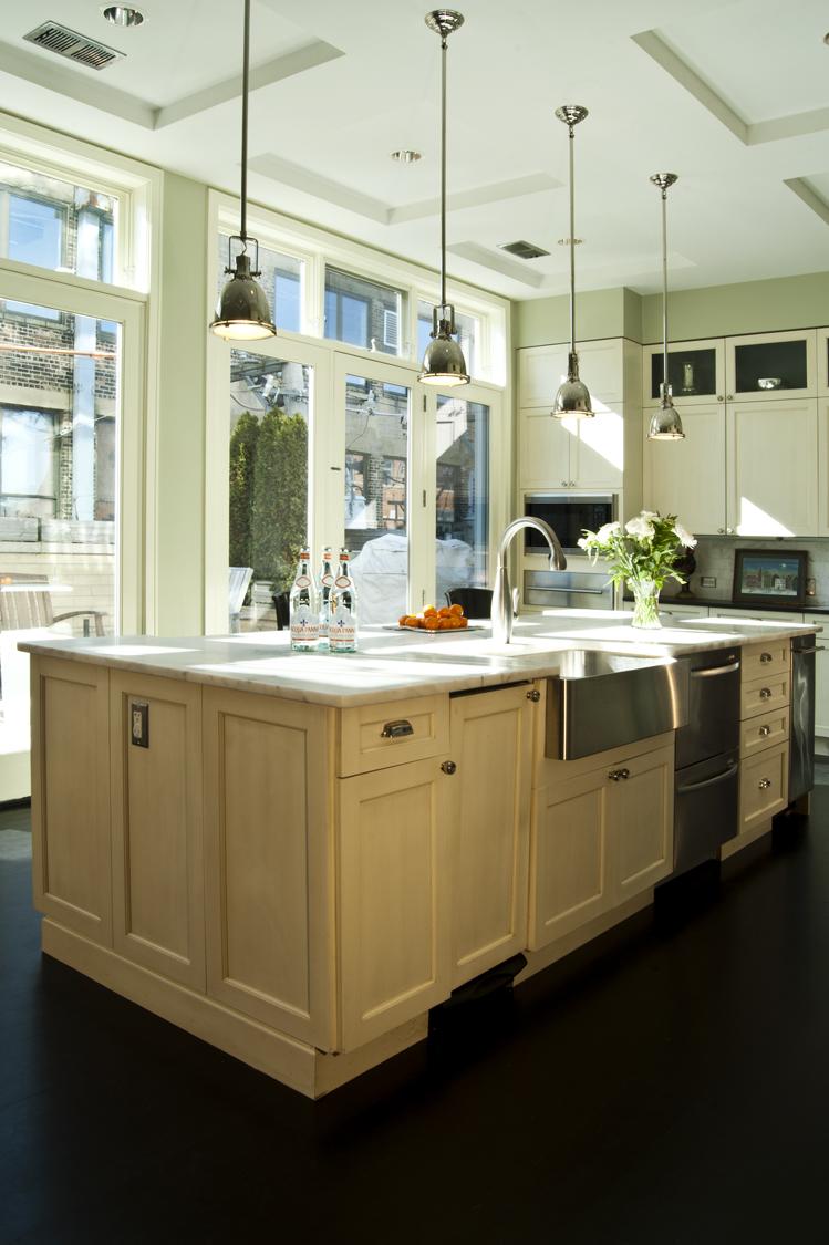 River North kitchen by studio m interiors - Claudia Martin